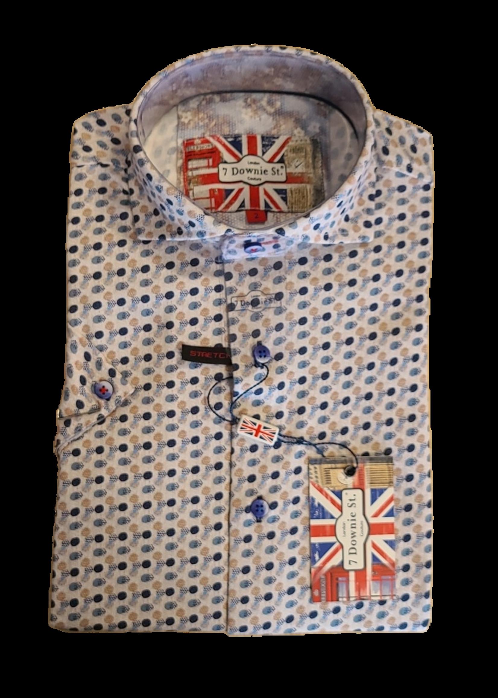 7 Downie St. 7 Downie St. Short Sleeve Shirt 7032