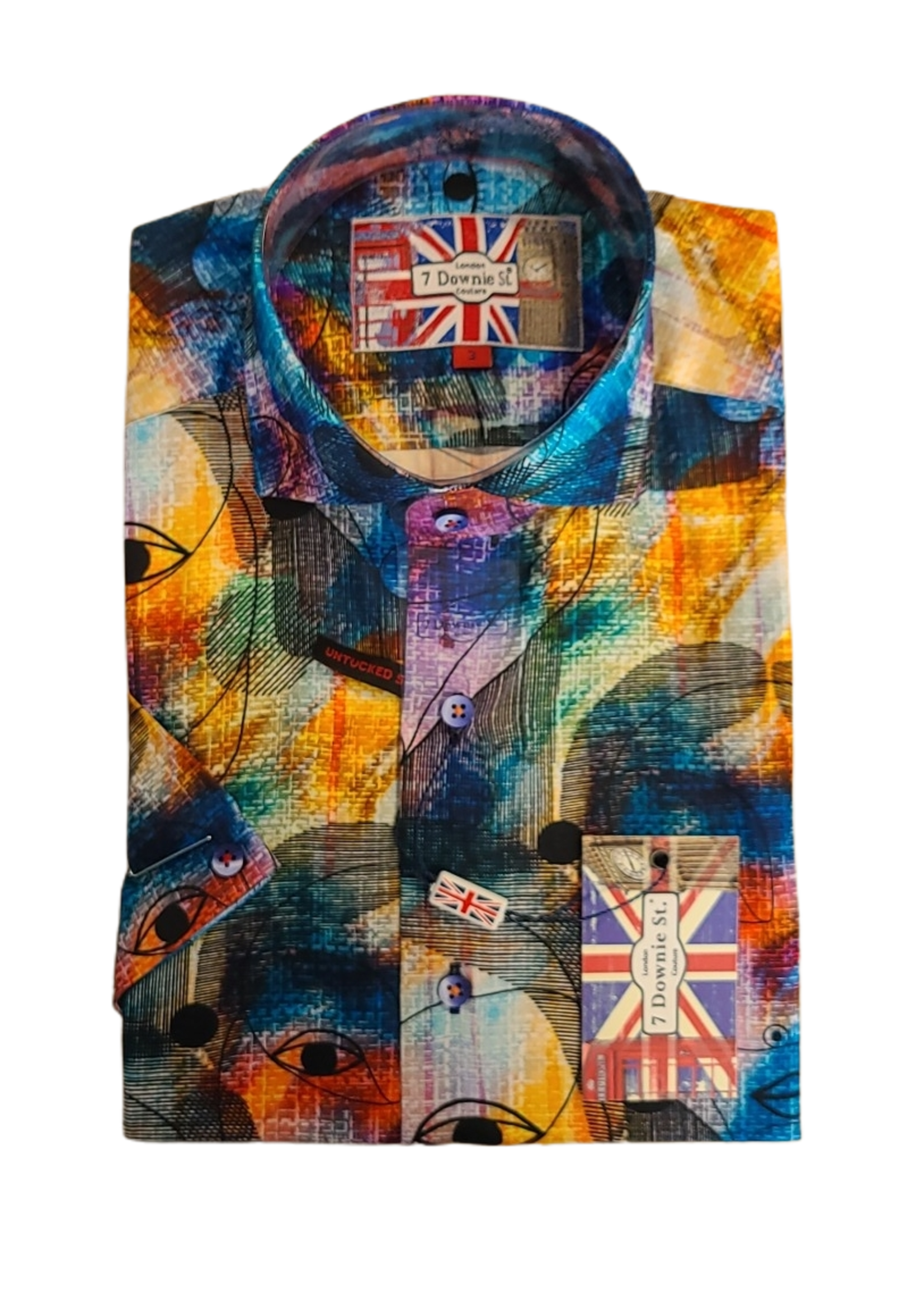 7 Downie St. 7 Downie St. Short Sleeve Shirt 7008