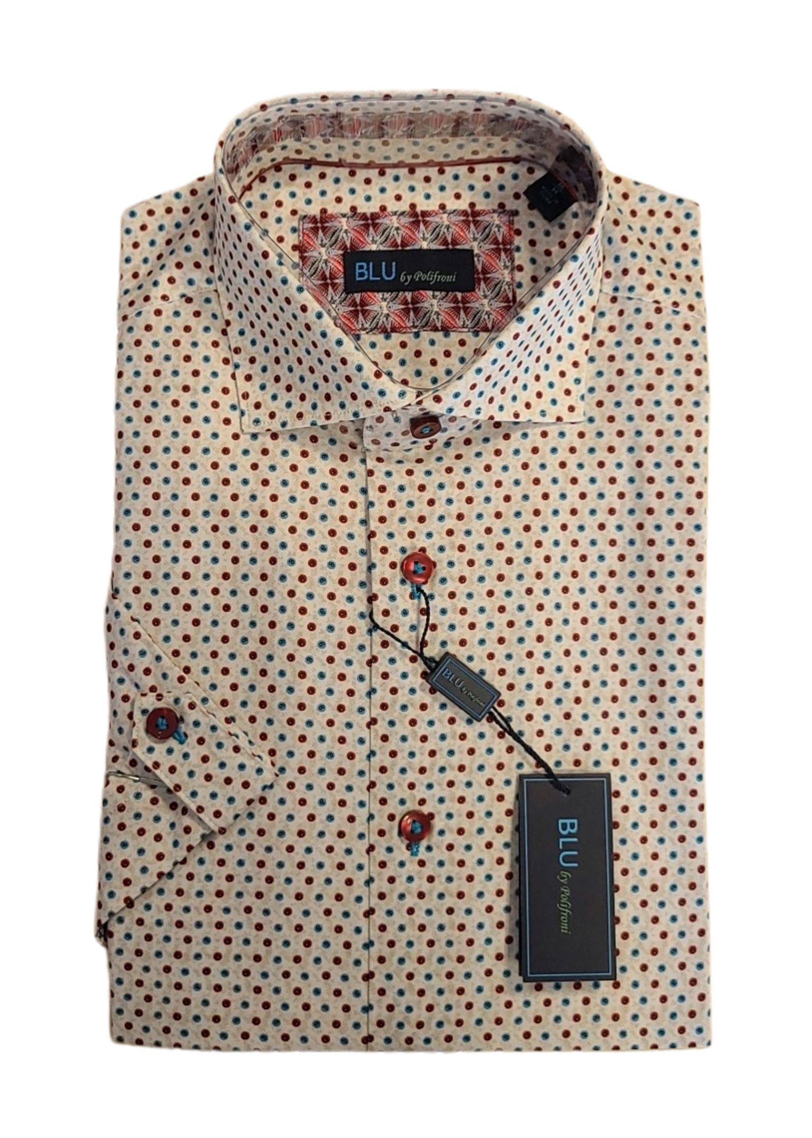 Blu Polifroni B-2147513 Short Sleeve Shirt