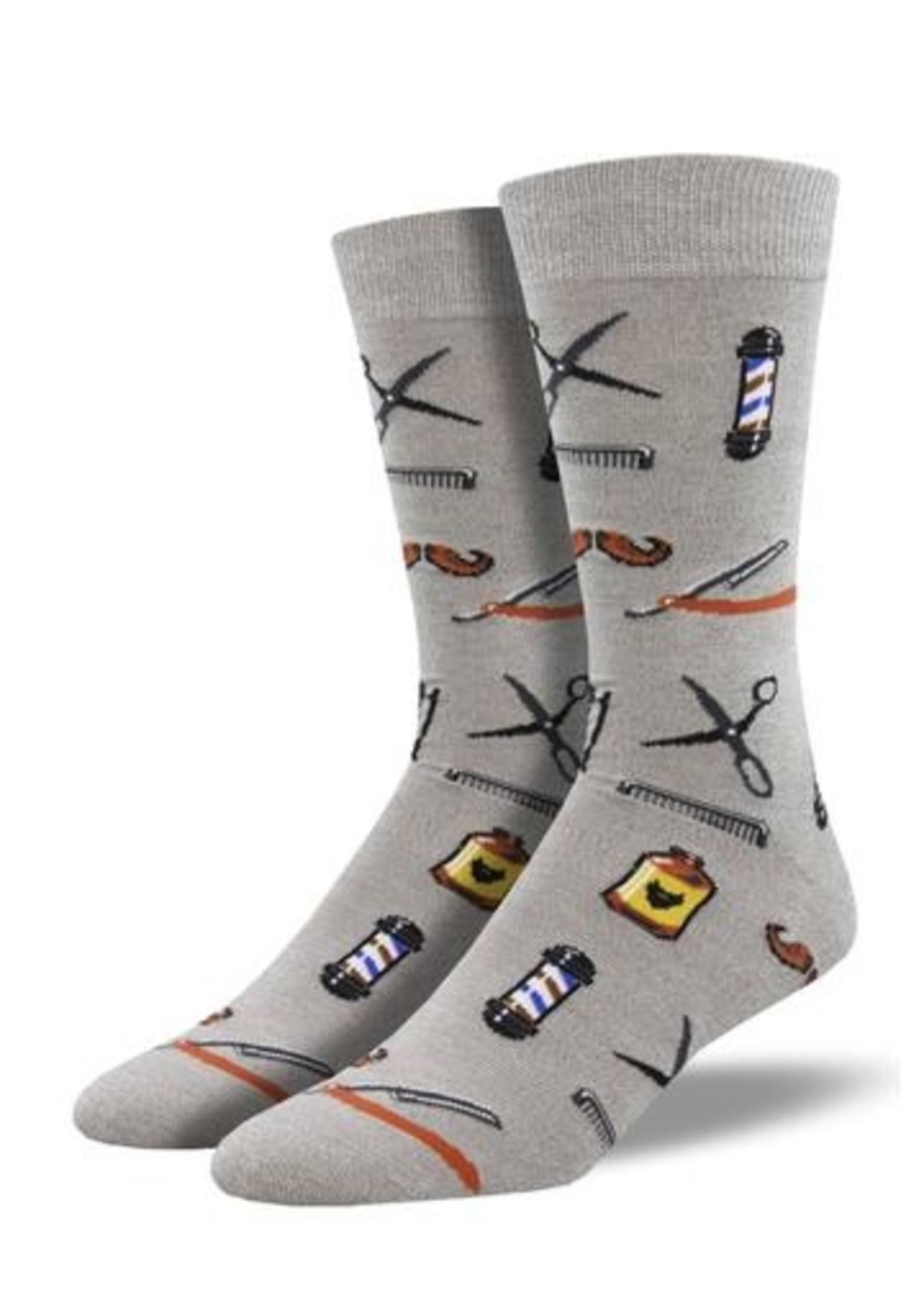 Socksmith Canada Bamboo Barber Shop Socks