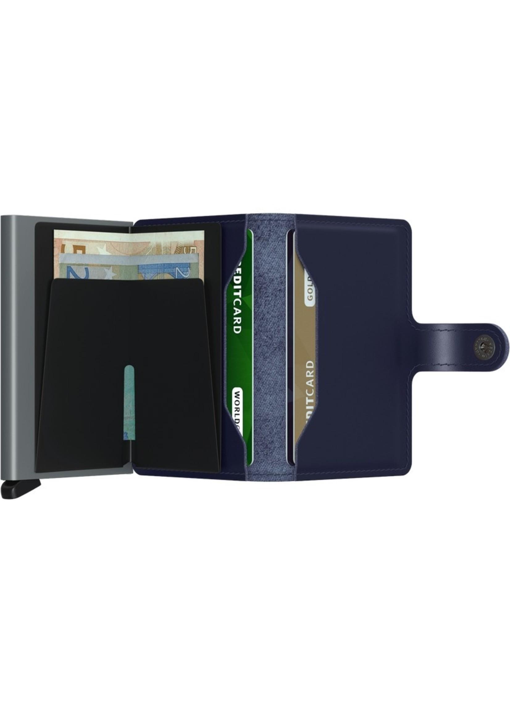 Secrid Wallets Miniwallet Metallic Blue