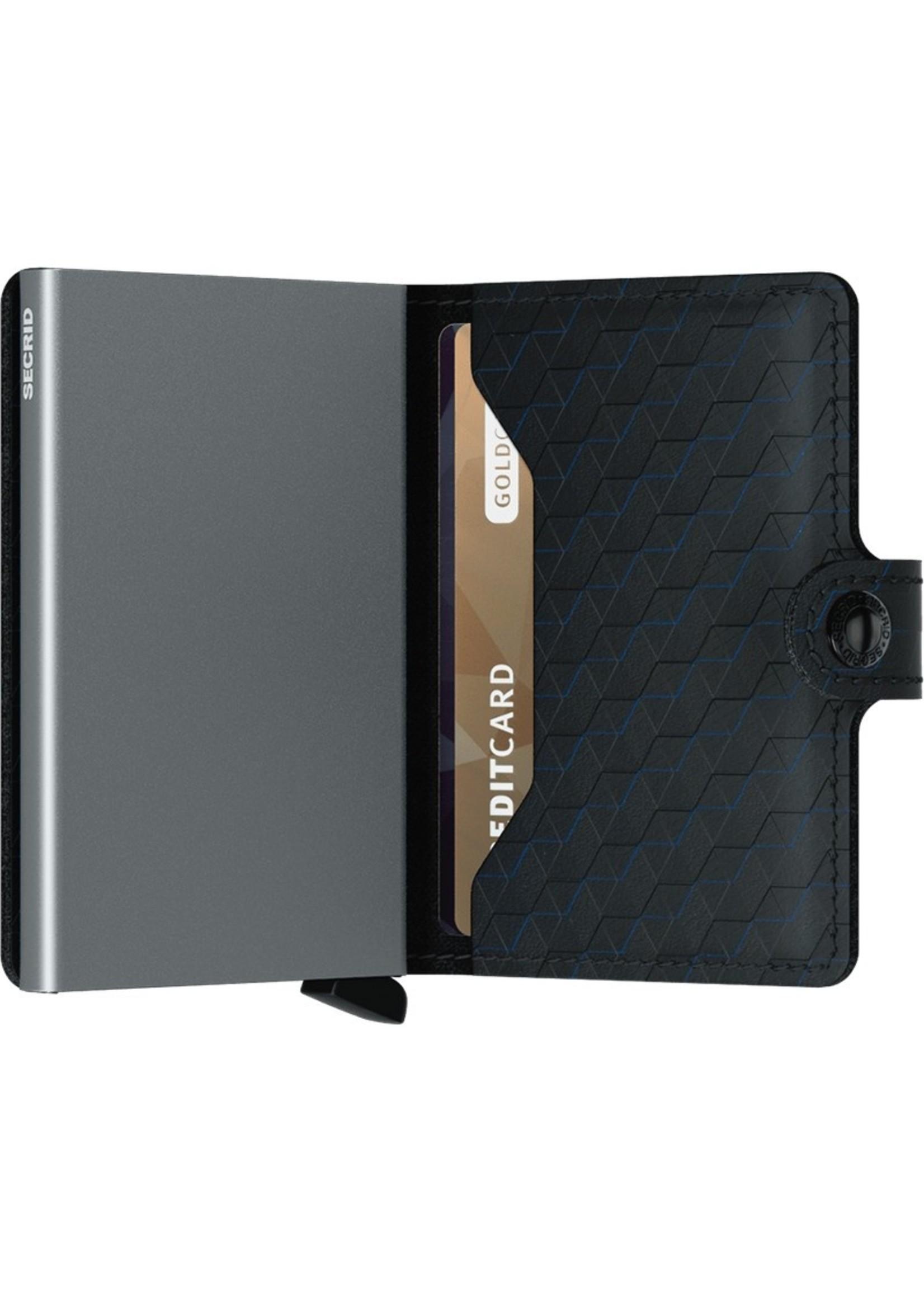 Secrid Wallets Miniwallet Optical Black-Titanium