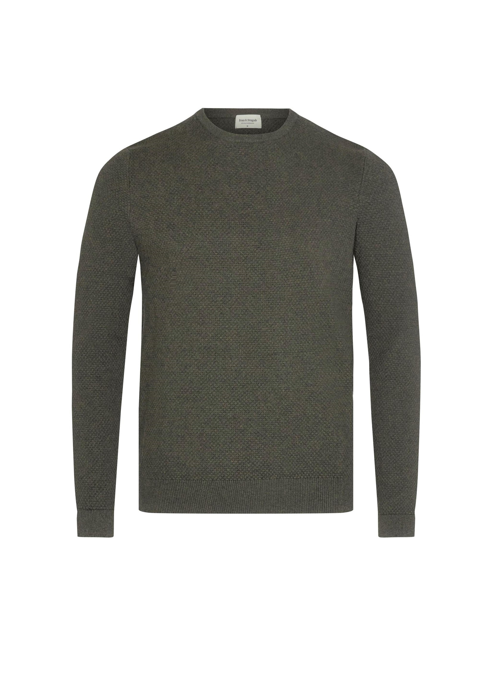 Bruun & Stengade Diamond Knit Crew Neck Sweater 2102-04002