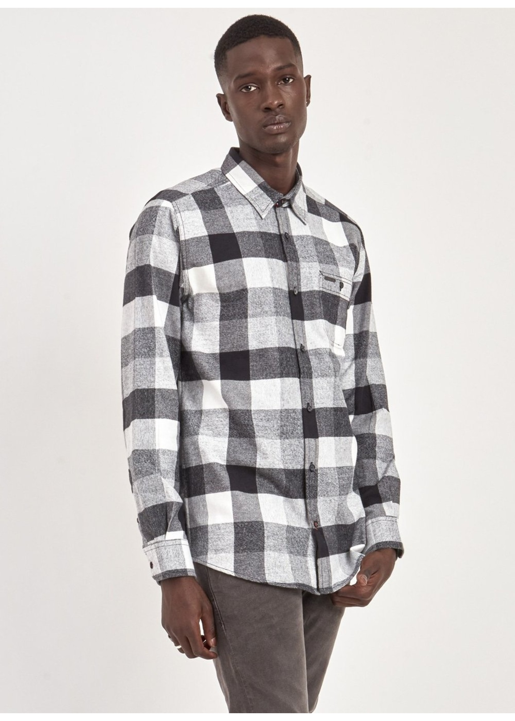 Point Zero 7754567 Brushed Flannel Shirt