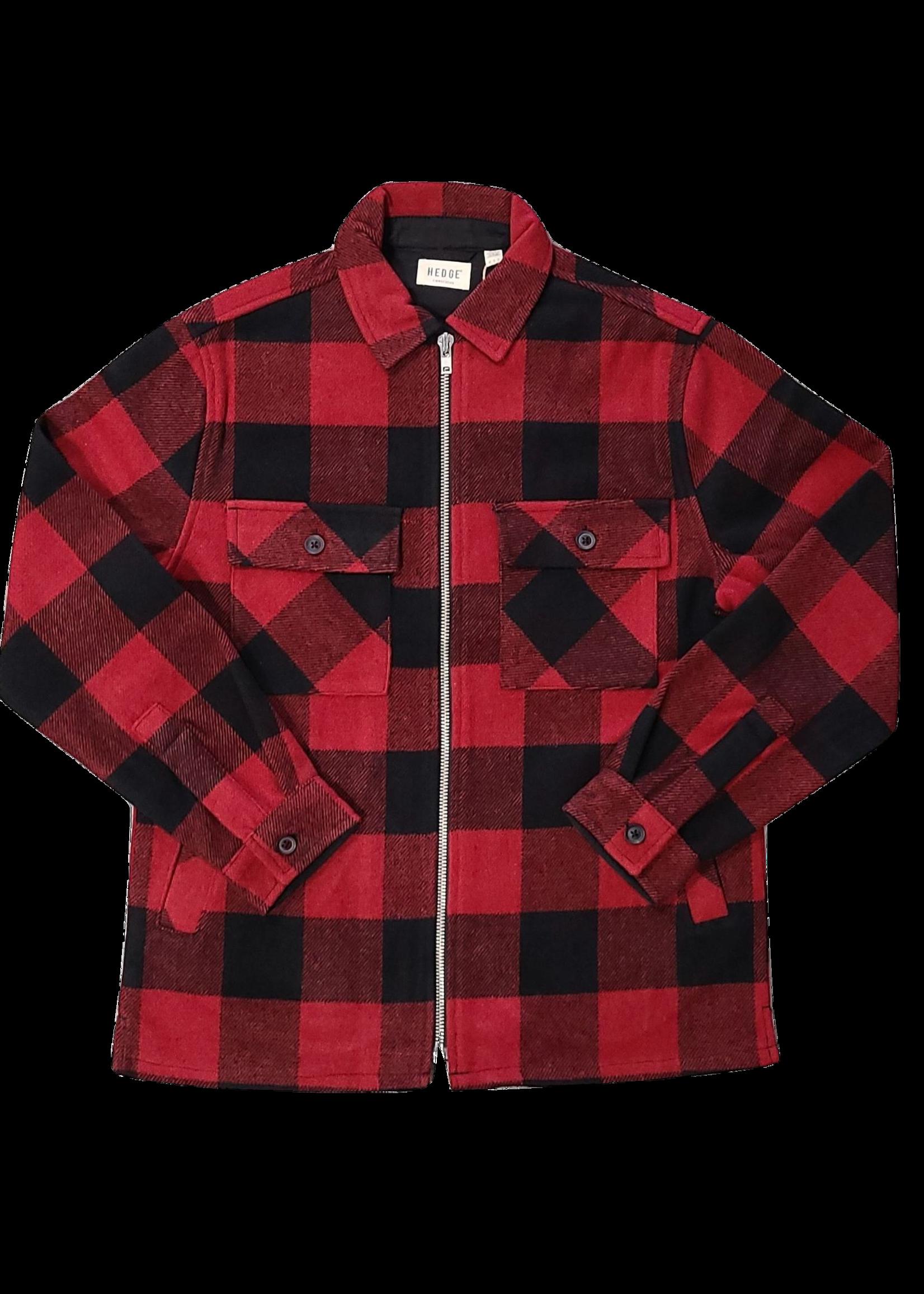 Hedge Hedge Woven Plaid Jacket 73MW034B