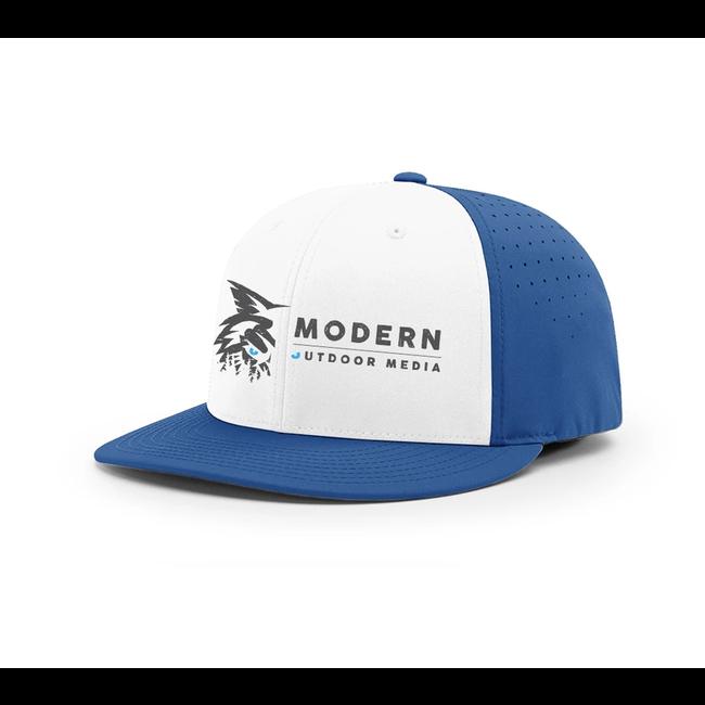 Modern Outdoor Media Blue Baseball Hats