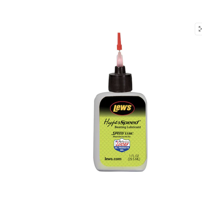 Lew's Hyper Speed Reel Bearing Lube