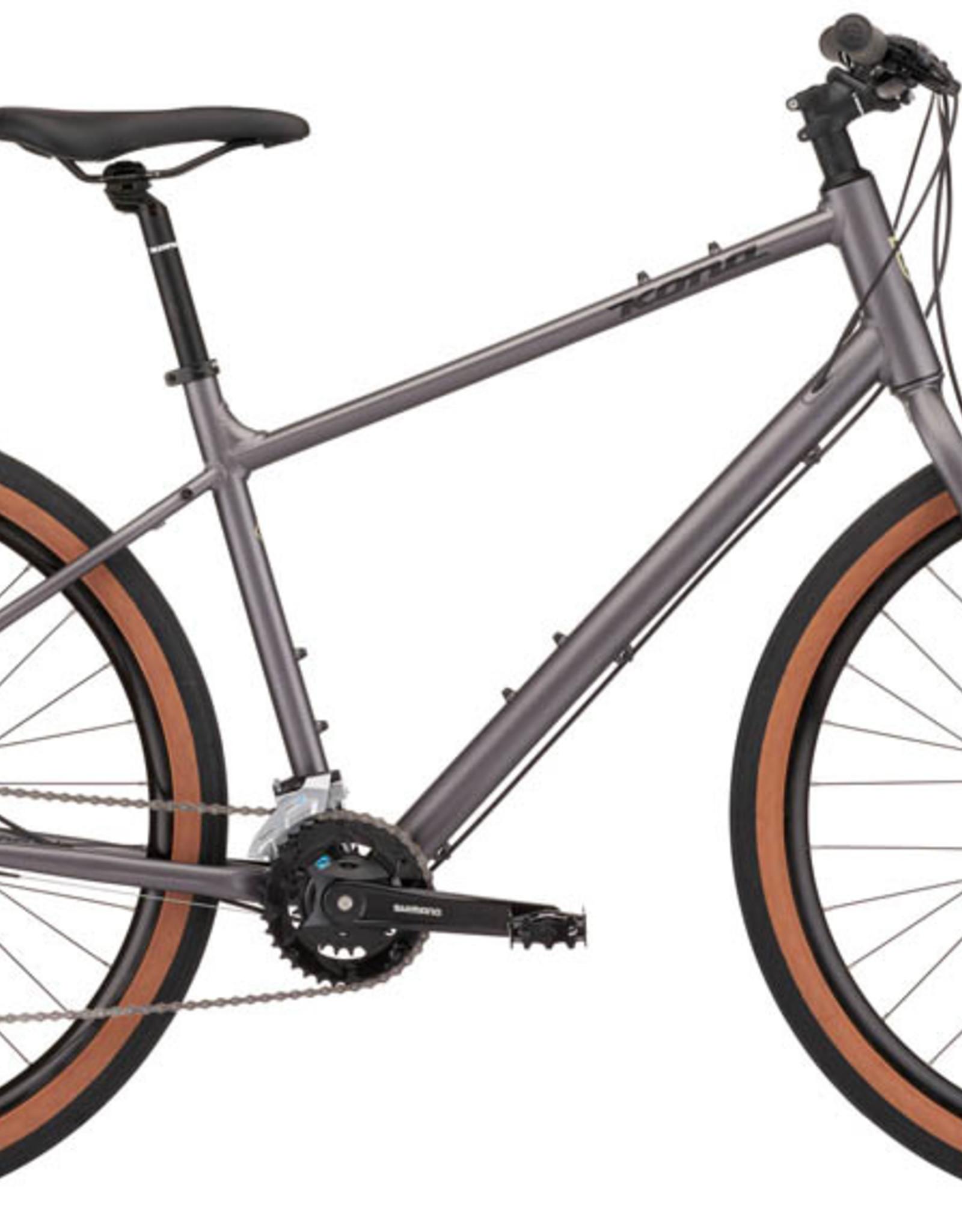 Kona Bicycles 2022 Kona Dew Asphalt Grey Medium Hybrid