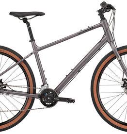 Kona Bicycles 2022 Kona Dew Asphalt Grey Large Hybrid