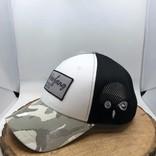 Casquette Harfang blanc logo gris