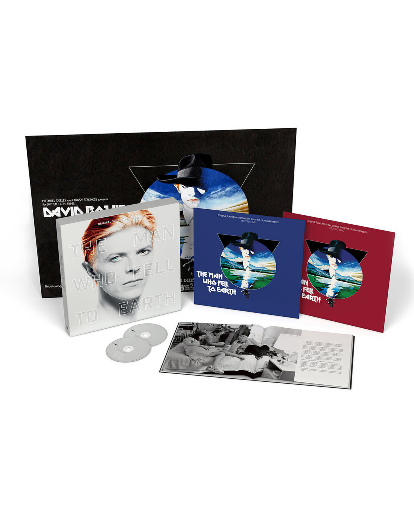 OST - The Man Who Fell To Earth (Ltd Dlx 2 CD + 2 LP)