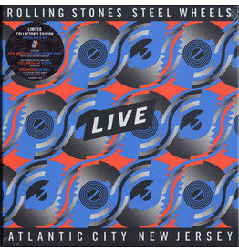 Rolling Stones - Steel Wheels Live 4LP Set