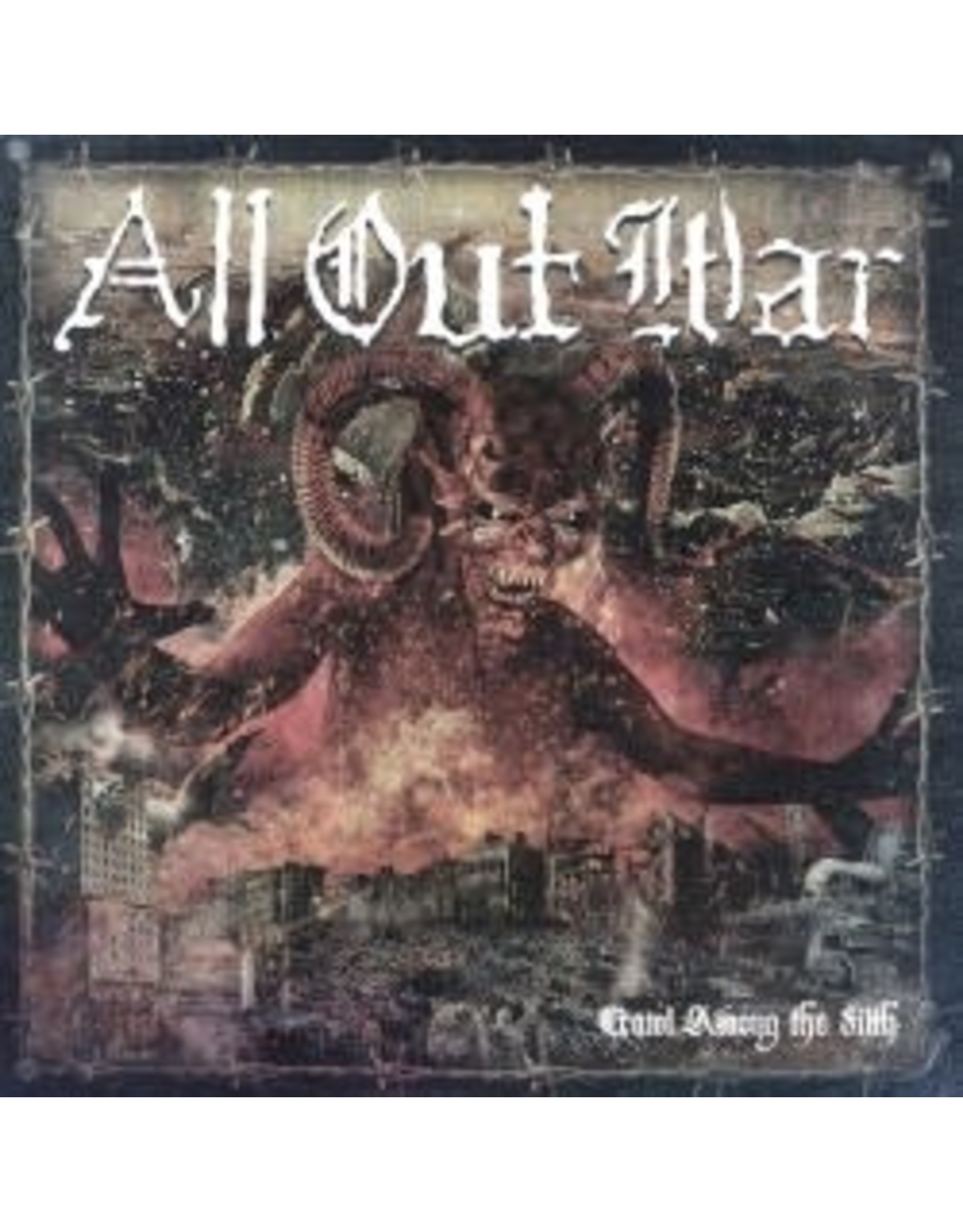 All Out War - Crawl Among the Filth LP