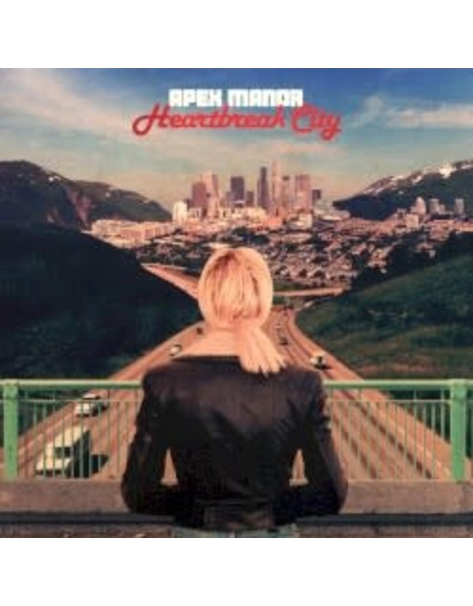 Apex Manor - Heartbreak City (Ltd Red Vinyl) LP