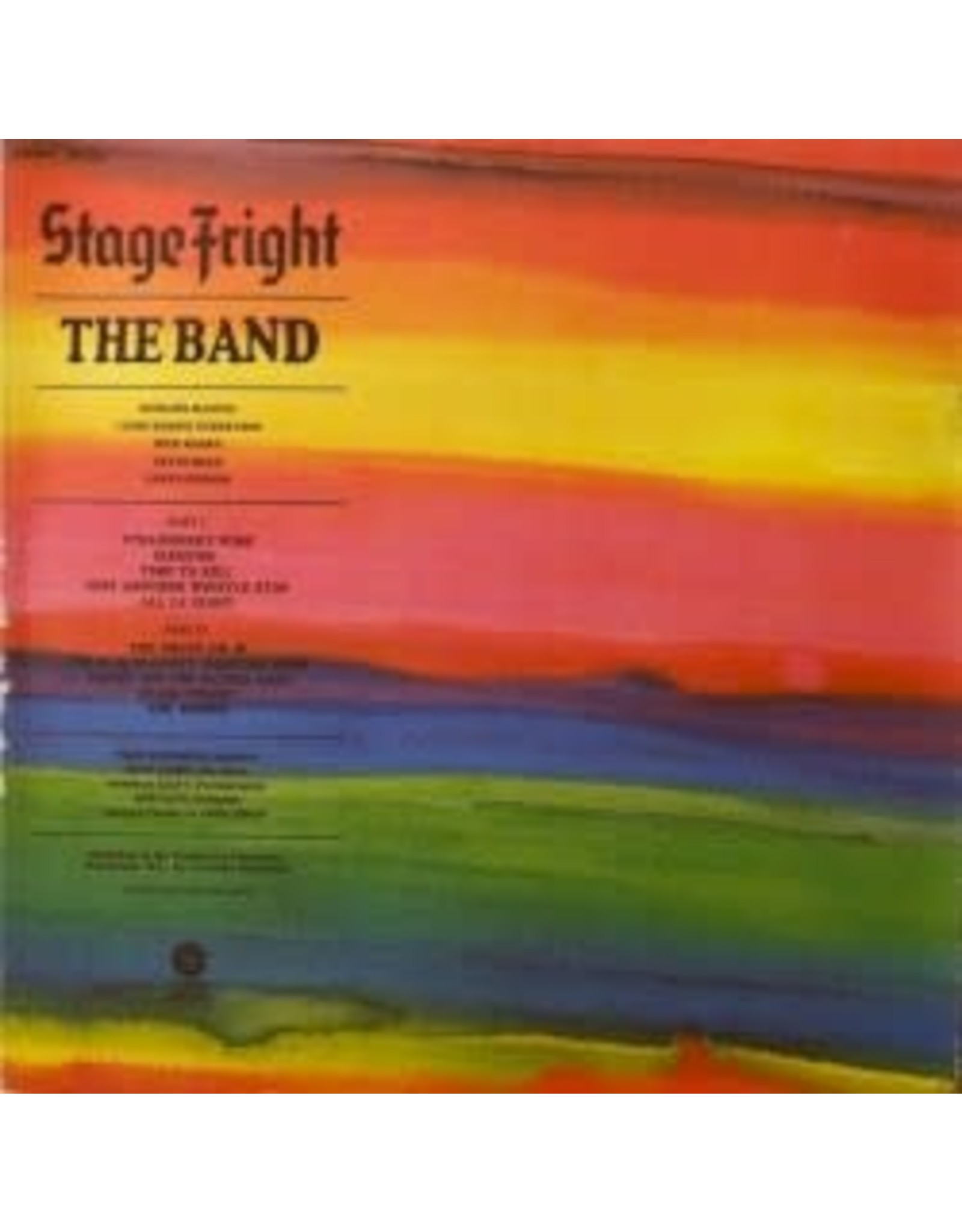 Band - Stage Fright LP