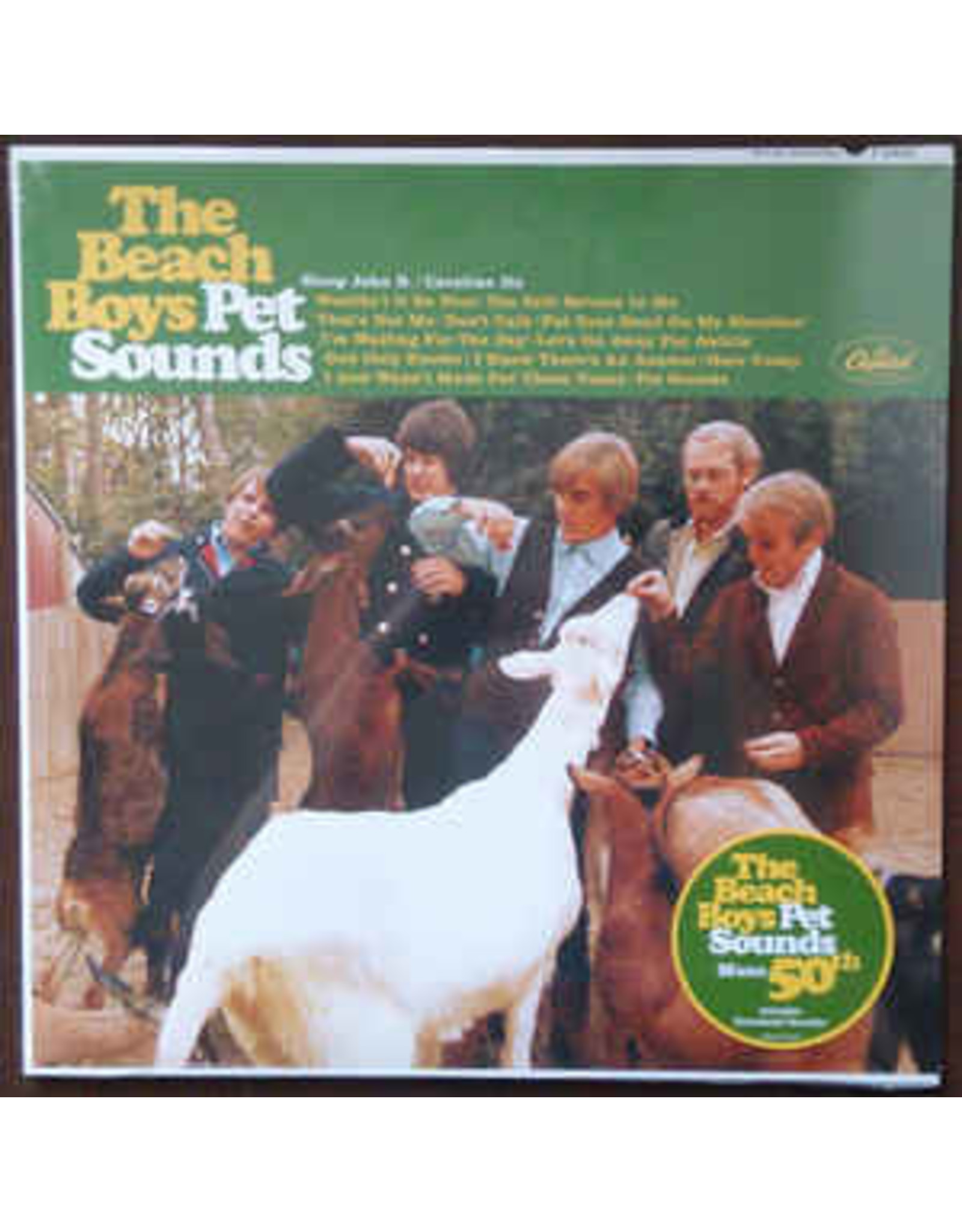 Beach Boys - Pet Sounds MONO LP