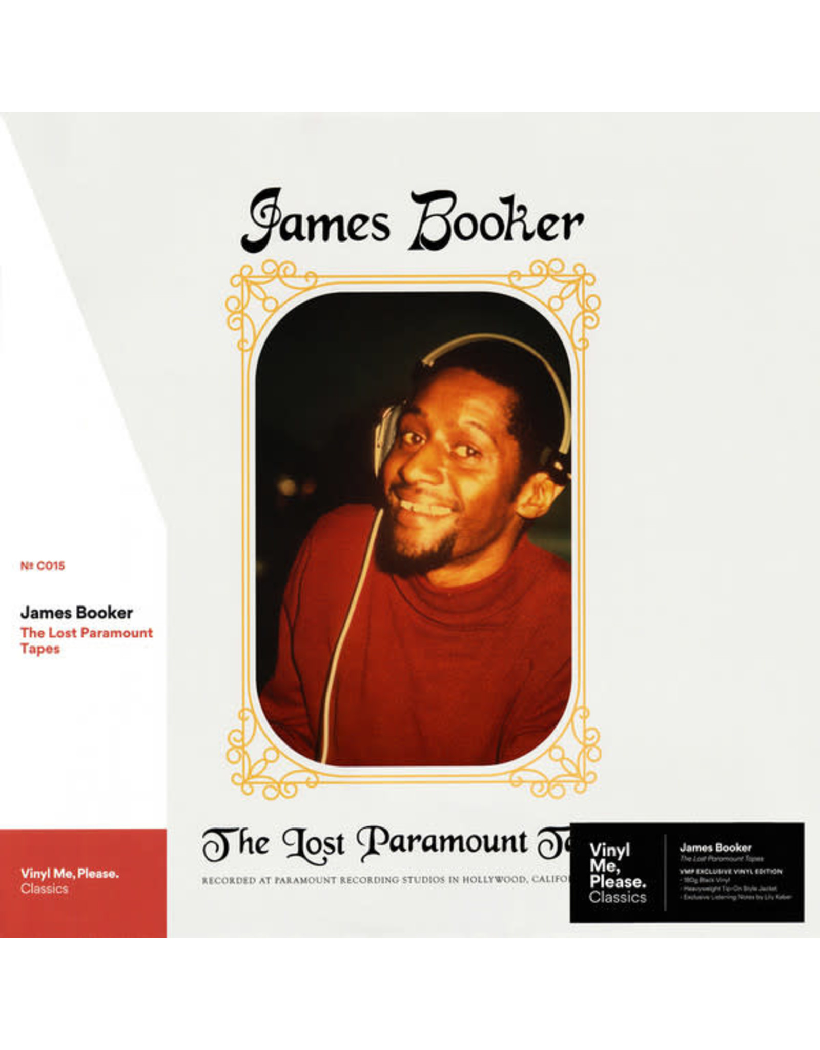 Booker, James - The Lost Paramount Tapes (Vinyl Me, Please) LP