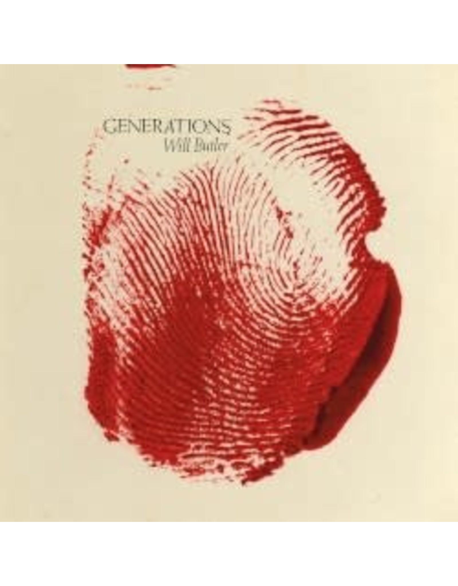 Butler, Will (Arcade Fire) - Generations (Ltd Red Splatter Vinyl) LP