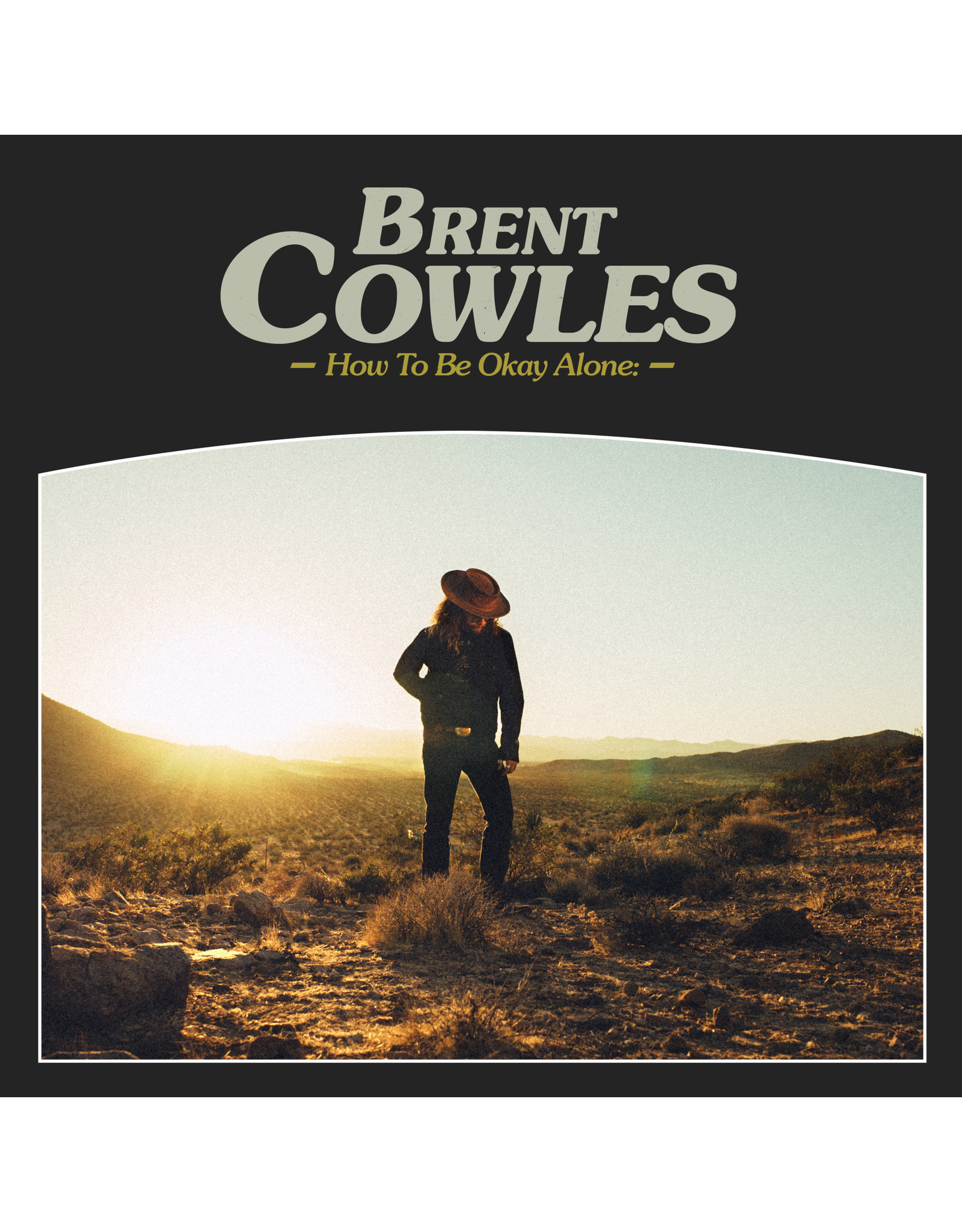 Cowles, Brent - How to Be Okay Alone LP
