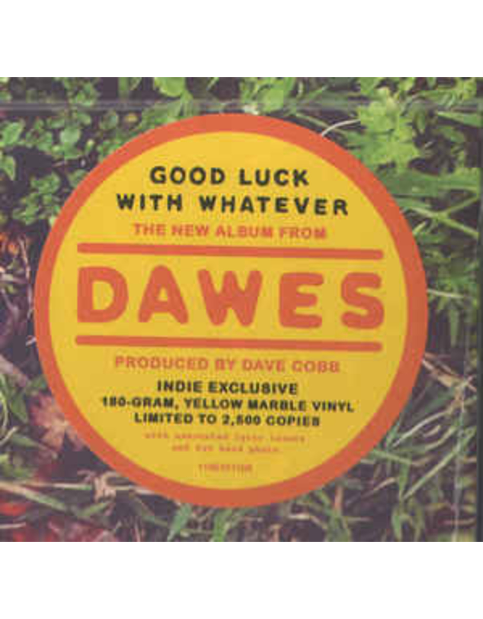 Dawes- Goodluck With Whatever LP