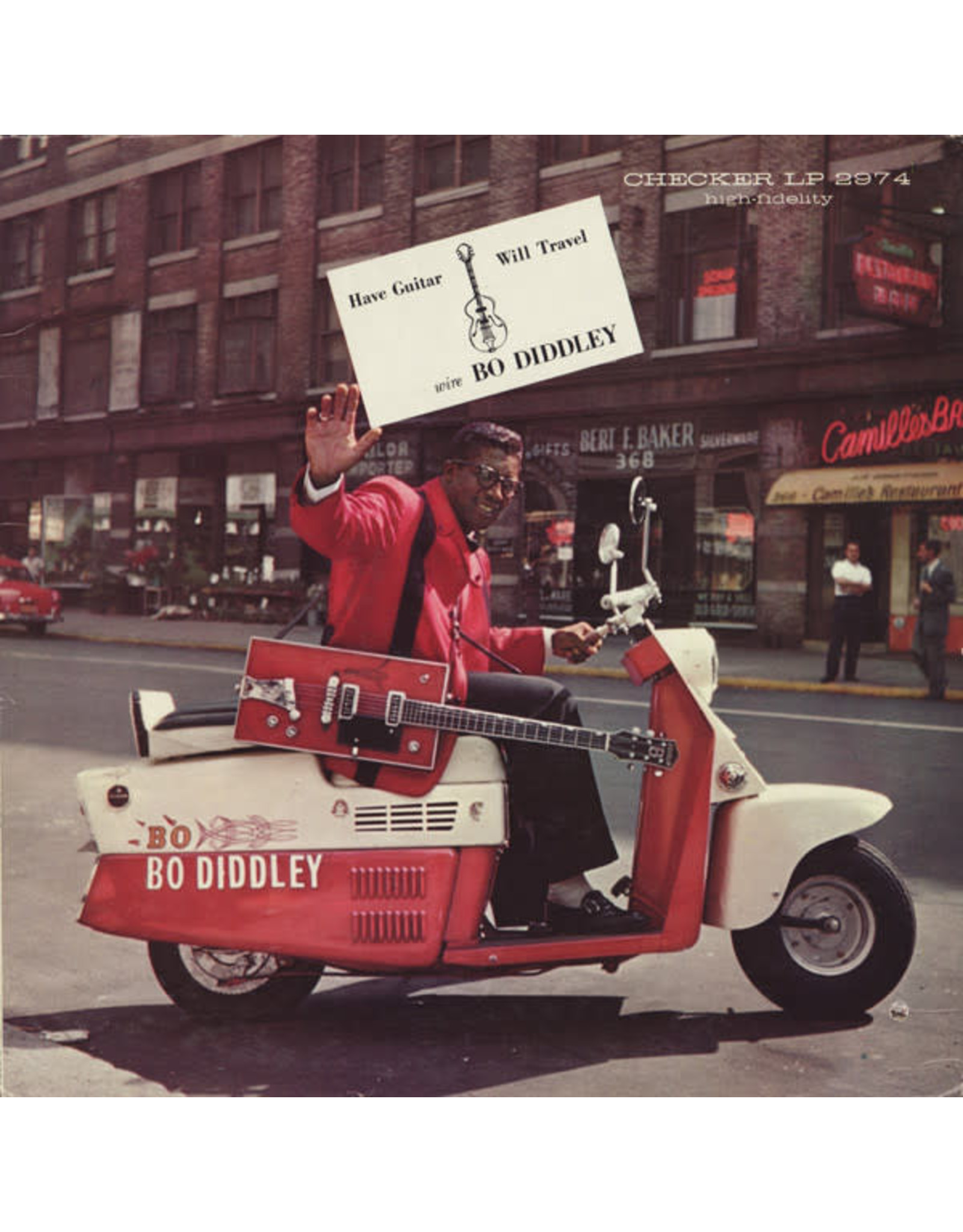 Diddley, Bo - Have Guitar, Will Travel LP