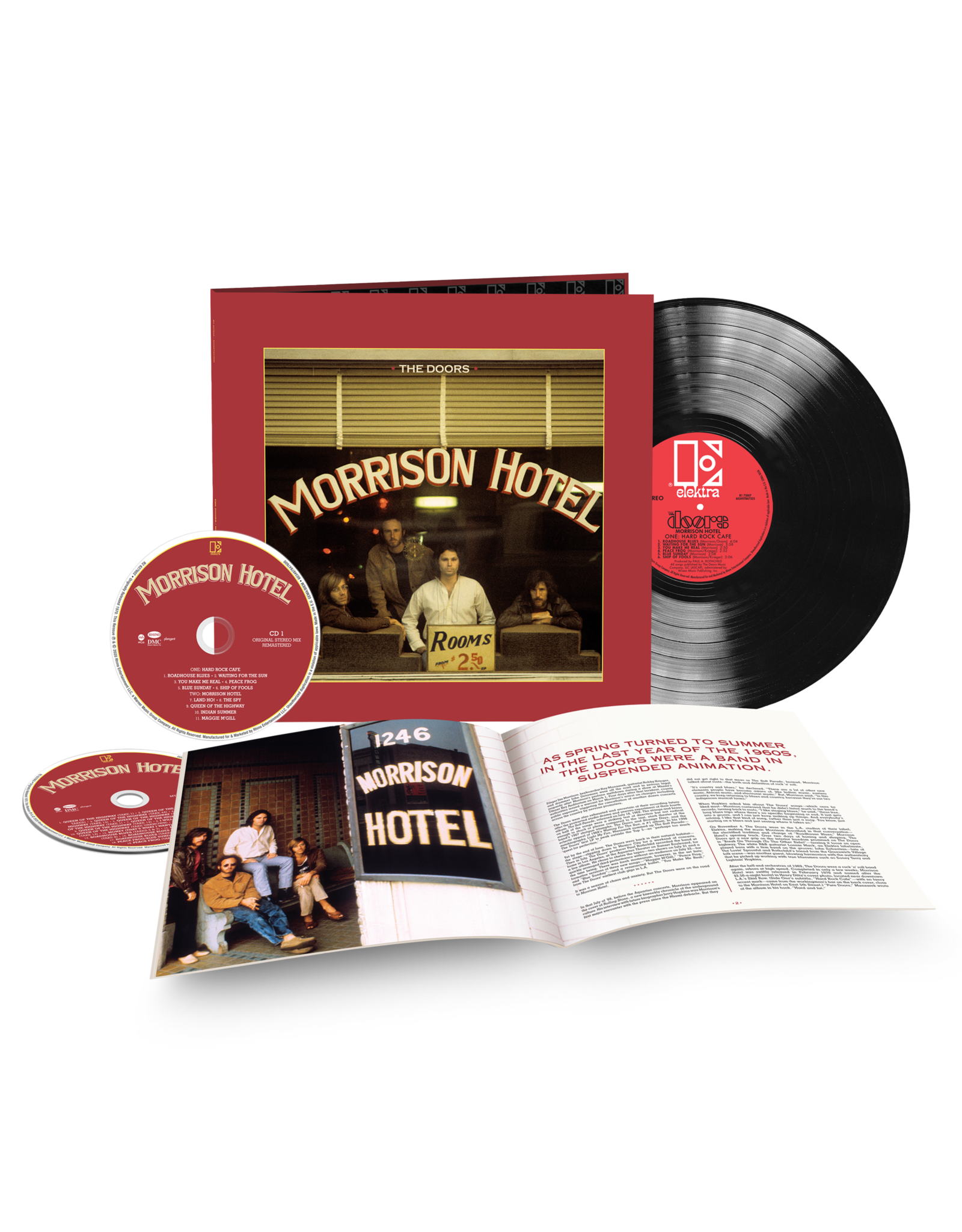 Doors, The - Morrison Hotel 50th Anniversary LP