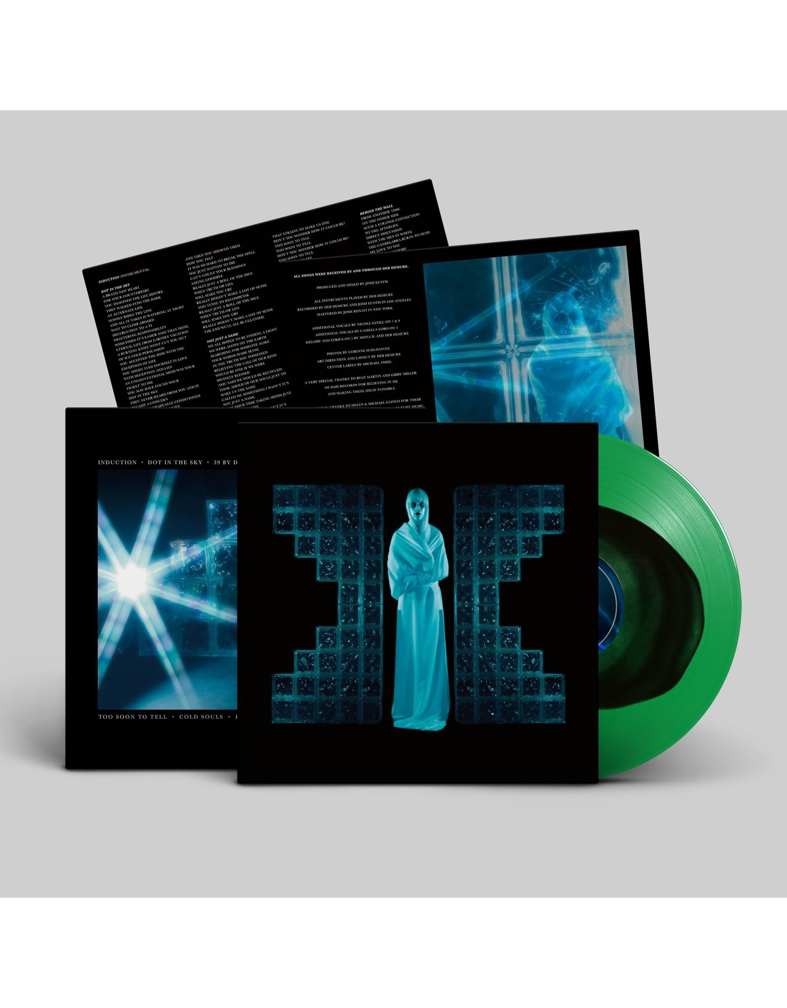Drab Majesty - The Demonstration (black-in-green coloured vinyl)