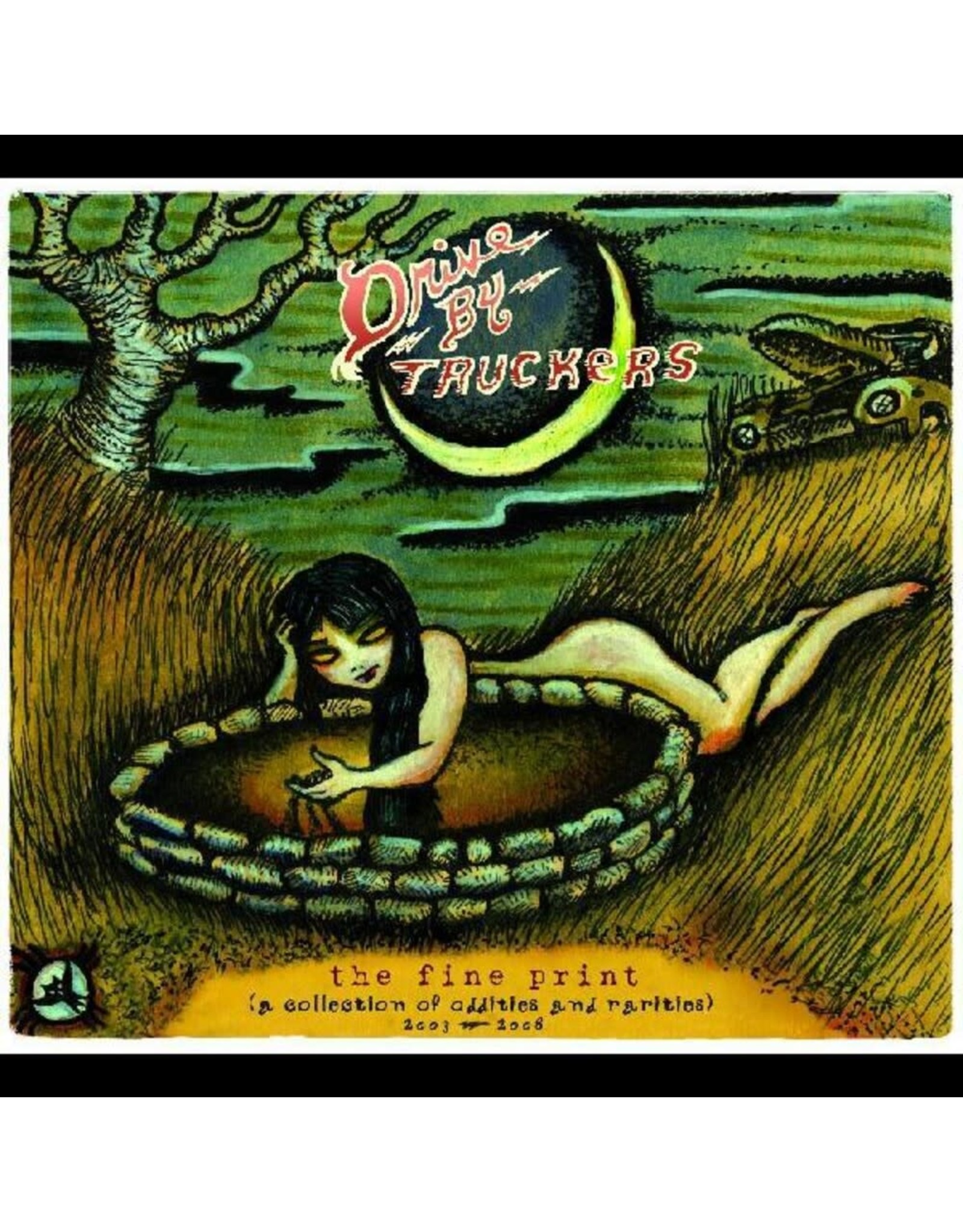 Drive-By Truckers - The Fine Print (A Collection of Oddities and Rarities) 2003-2008 LP (coloured)