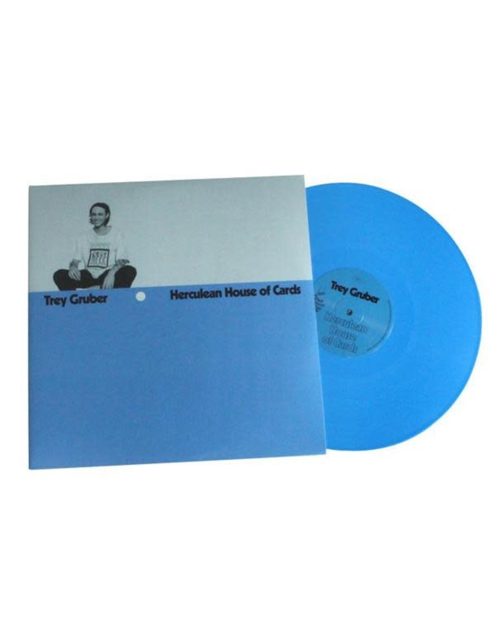 Gruber, Trey - Herculean House Of Cards (2LP-blue vinyl)