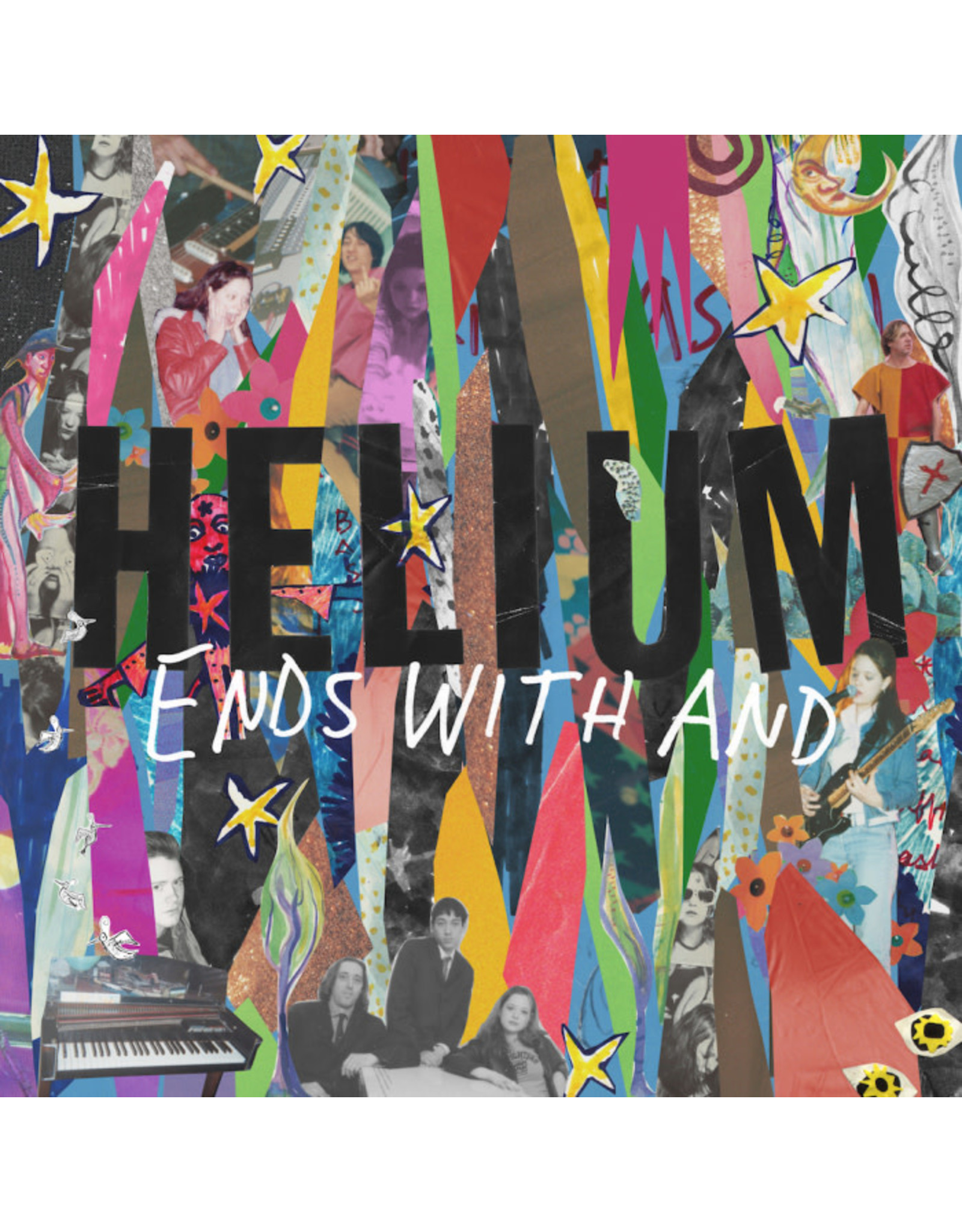 Helium - Ends With And (yellow & blue vinyl) 2LP