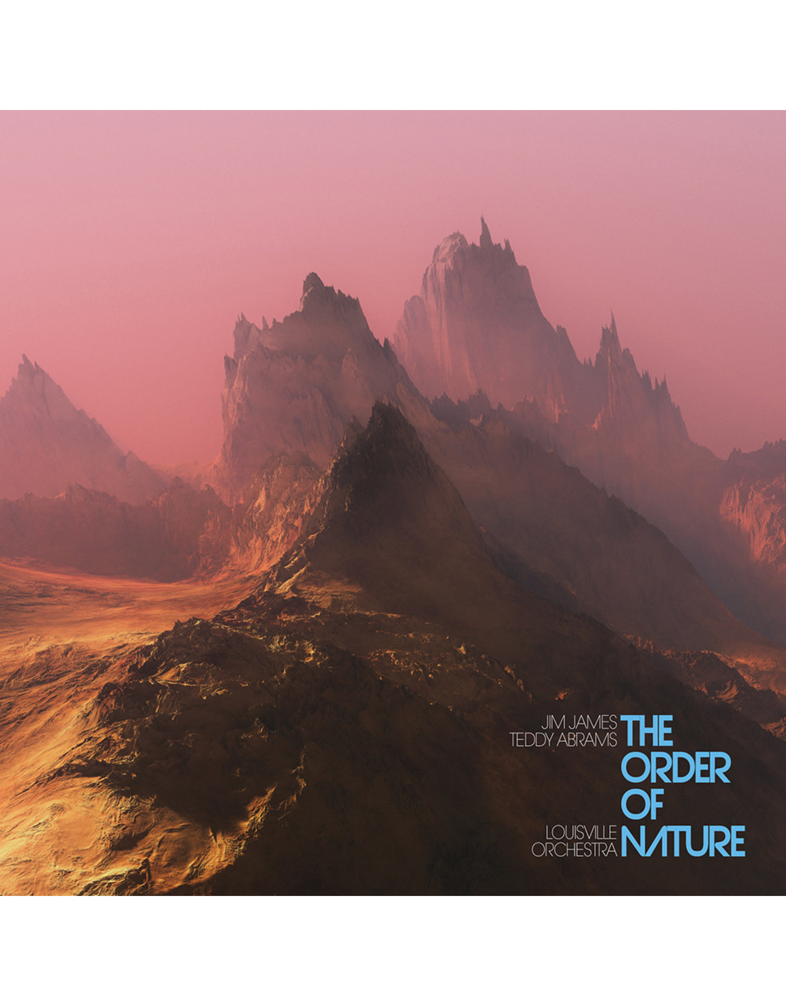 James, Jim - The Order of Nature LP