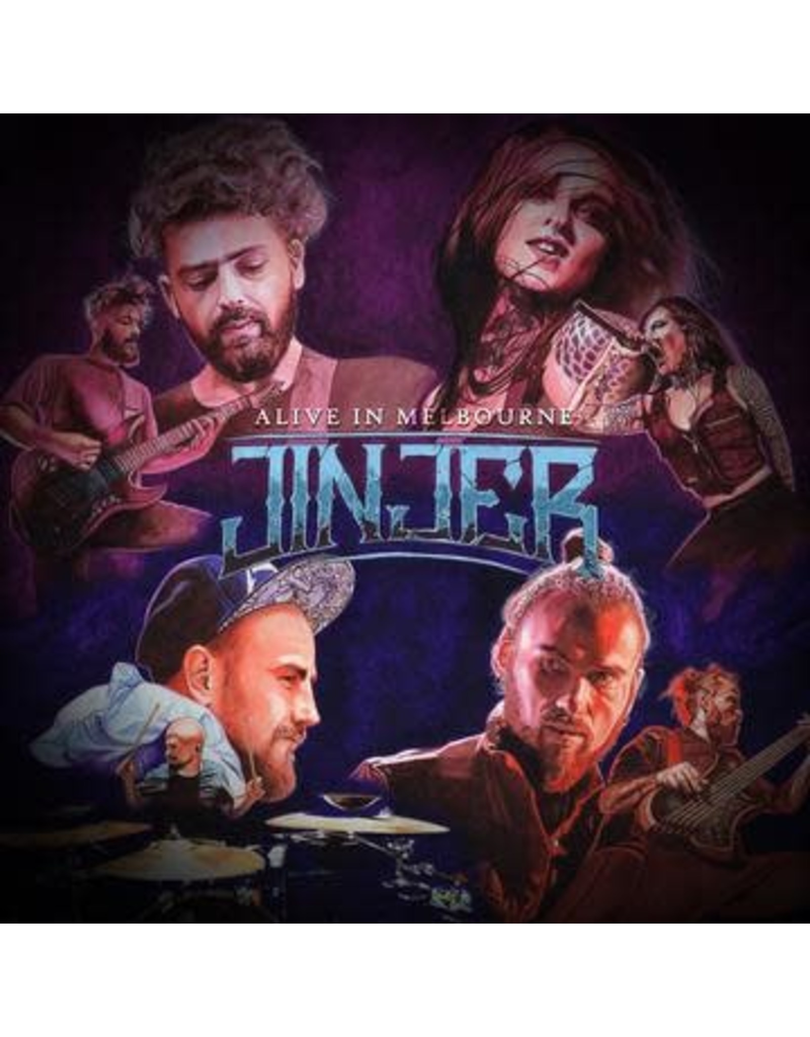 Jinjer - Alive In Melmourne 2LP