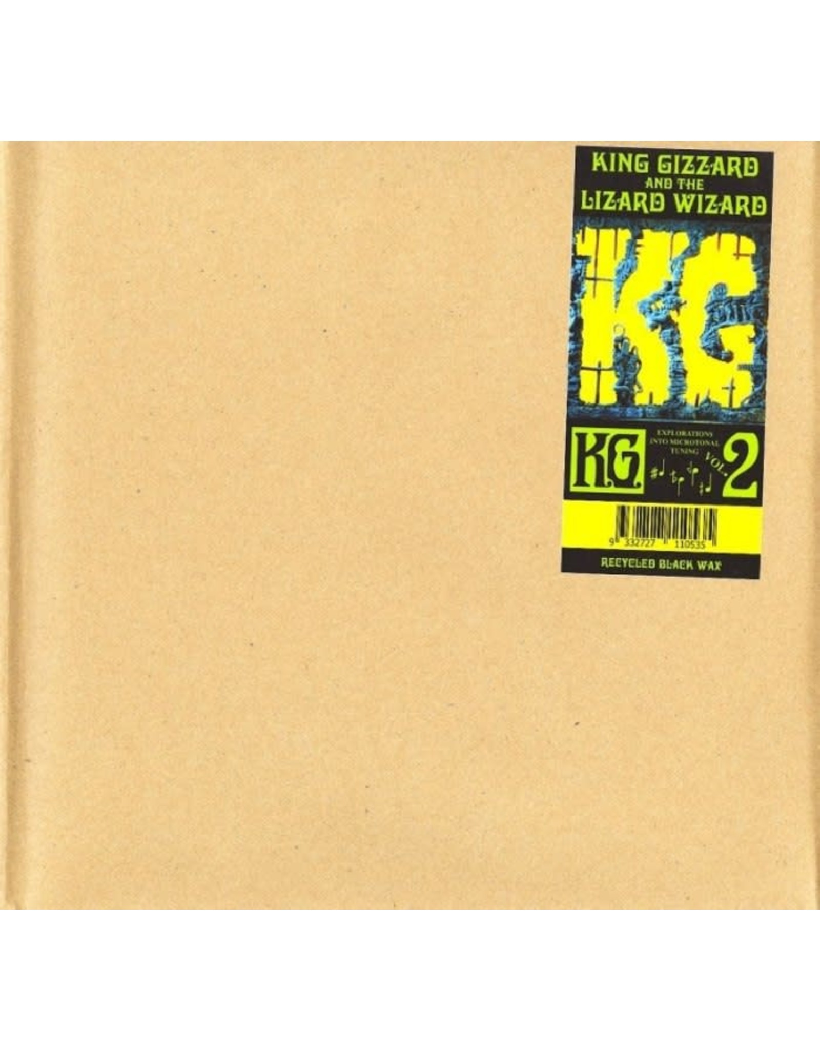 King Gizzard and the Lizard Wizard - K.G. V2  LP