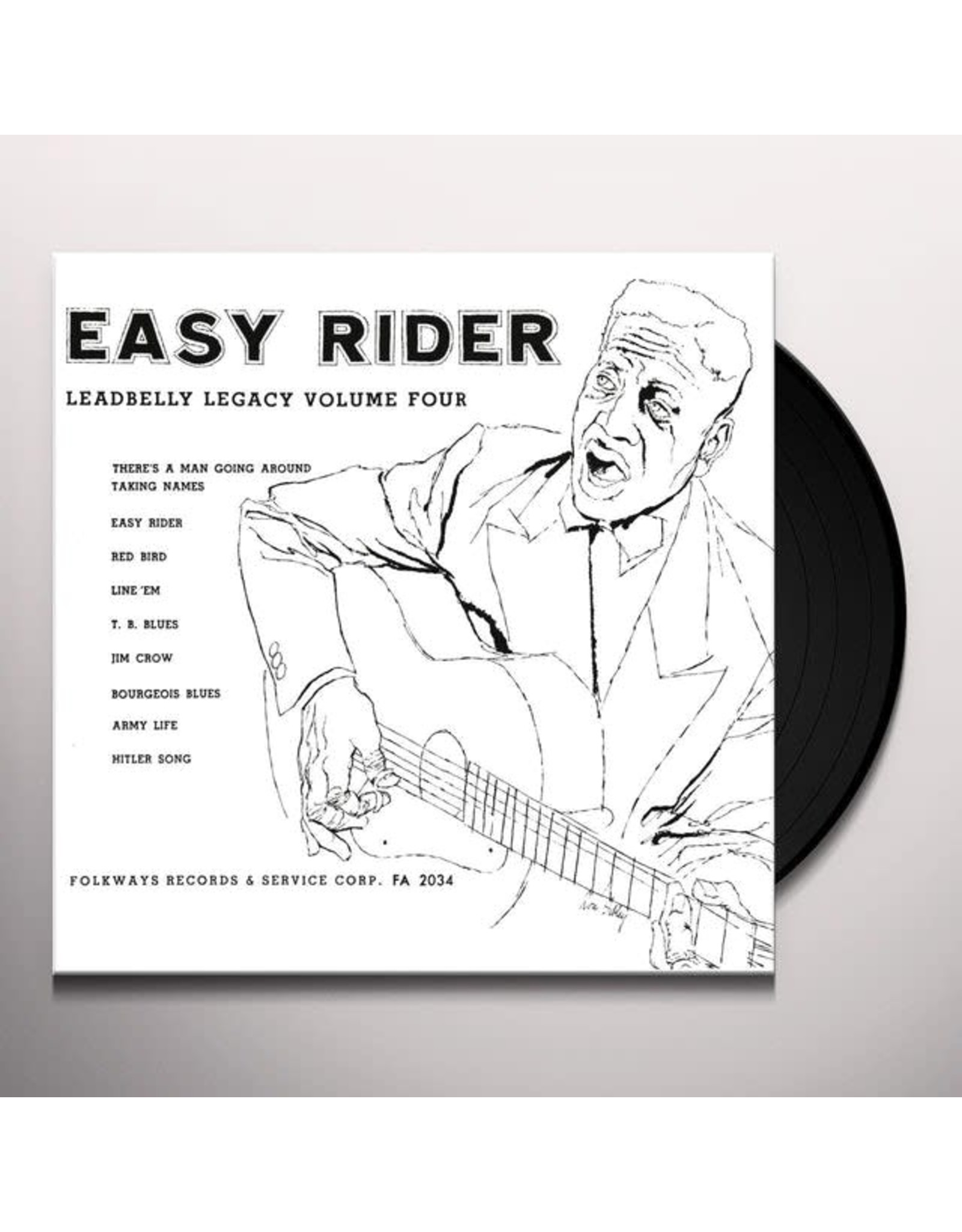 Leadbelly - Easy Rider : Legacy Vol. 4 LP