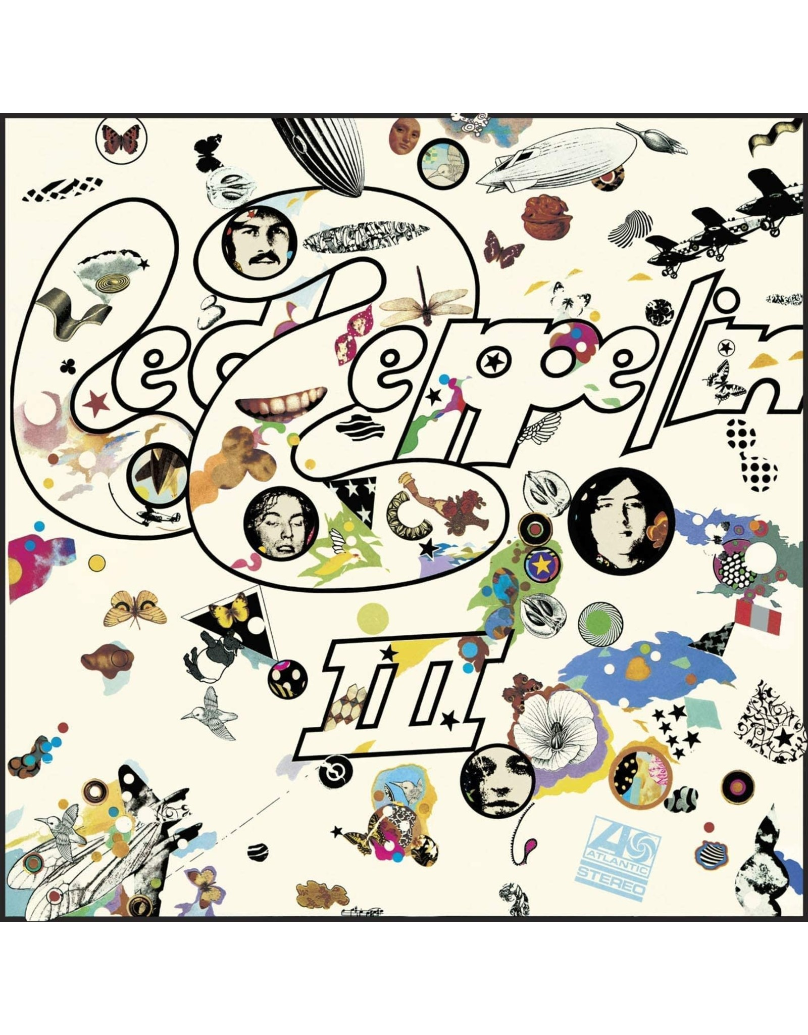 Led Zeppelin - III LP (RM 180G Die Cut Cover)