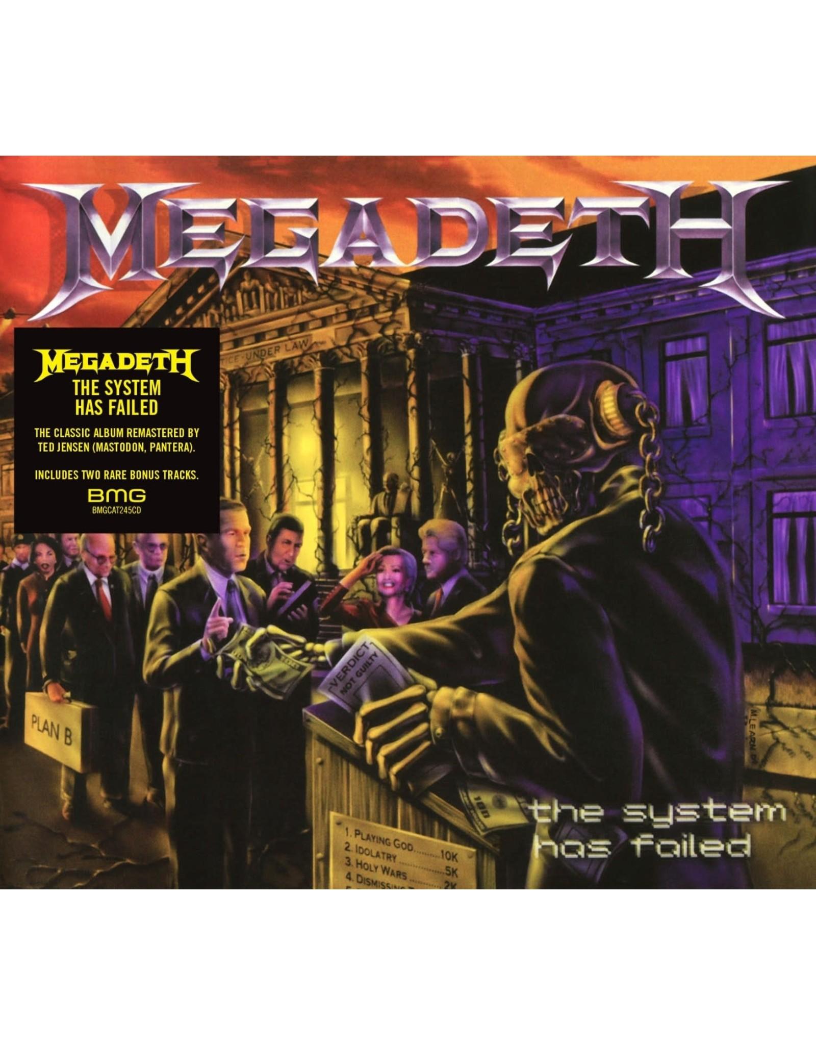 Megadeth - The System Has Failed LP