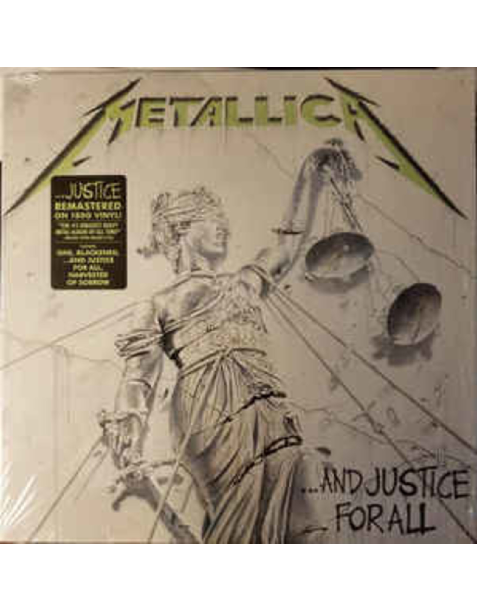 Metallica - And Justice For All 2LP