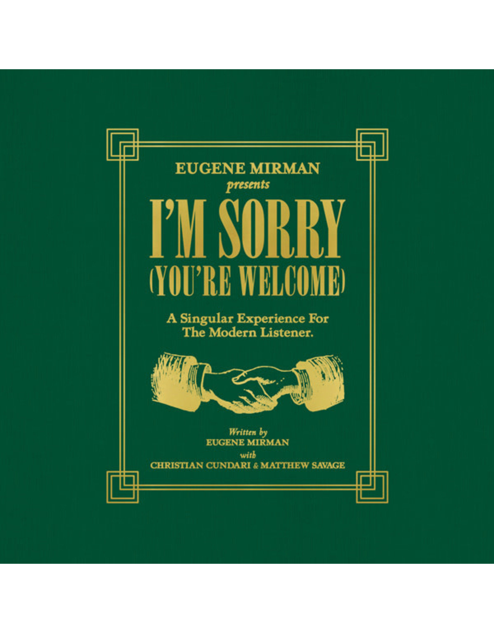 Mirman, Eugene - I'm Sorry (You're Welcome) LP
