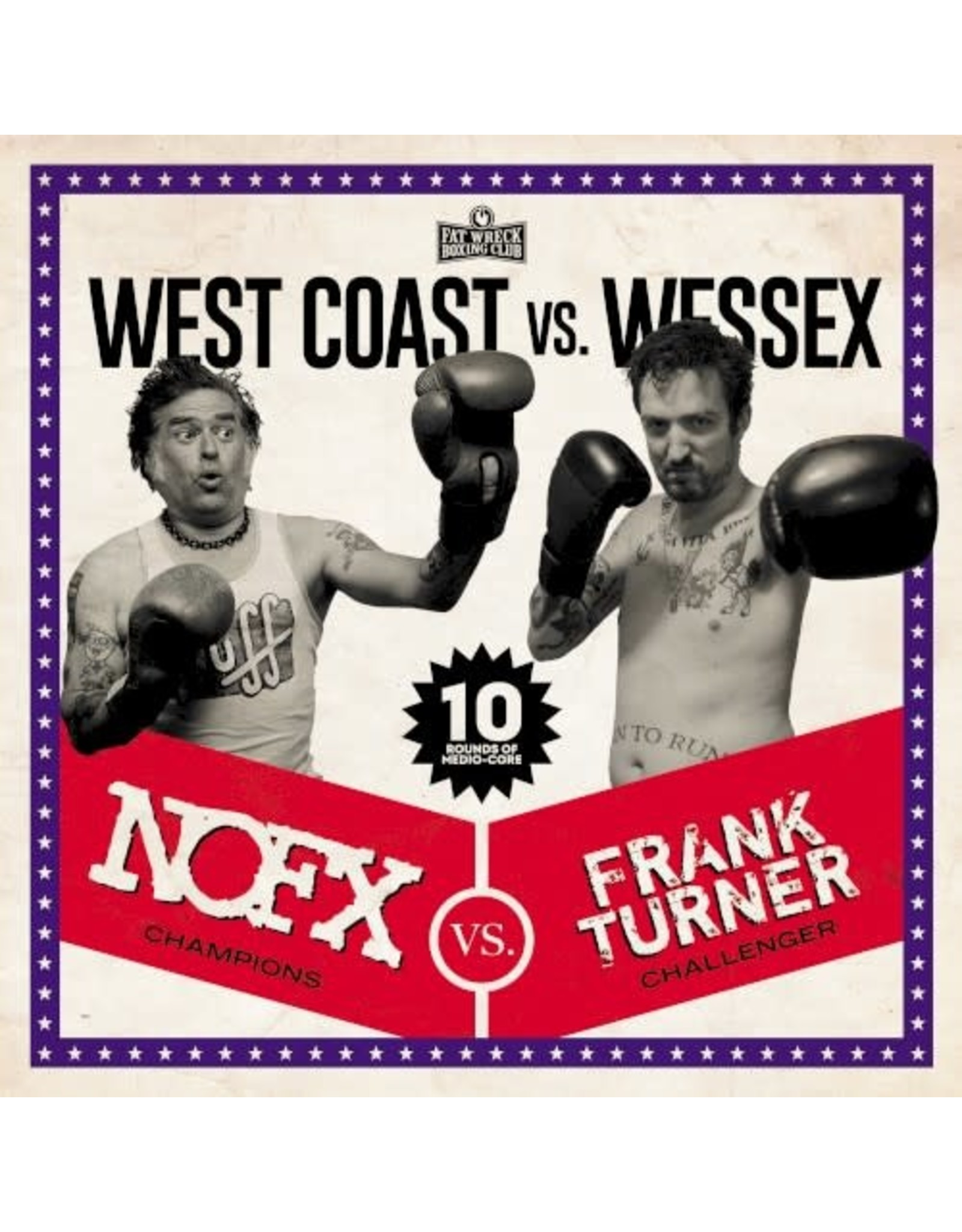 NOFX / Turner, Frank - West Coast Vs Wessex LP