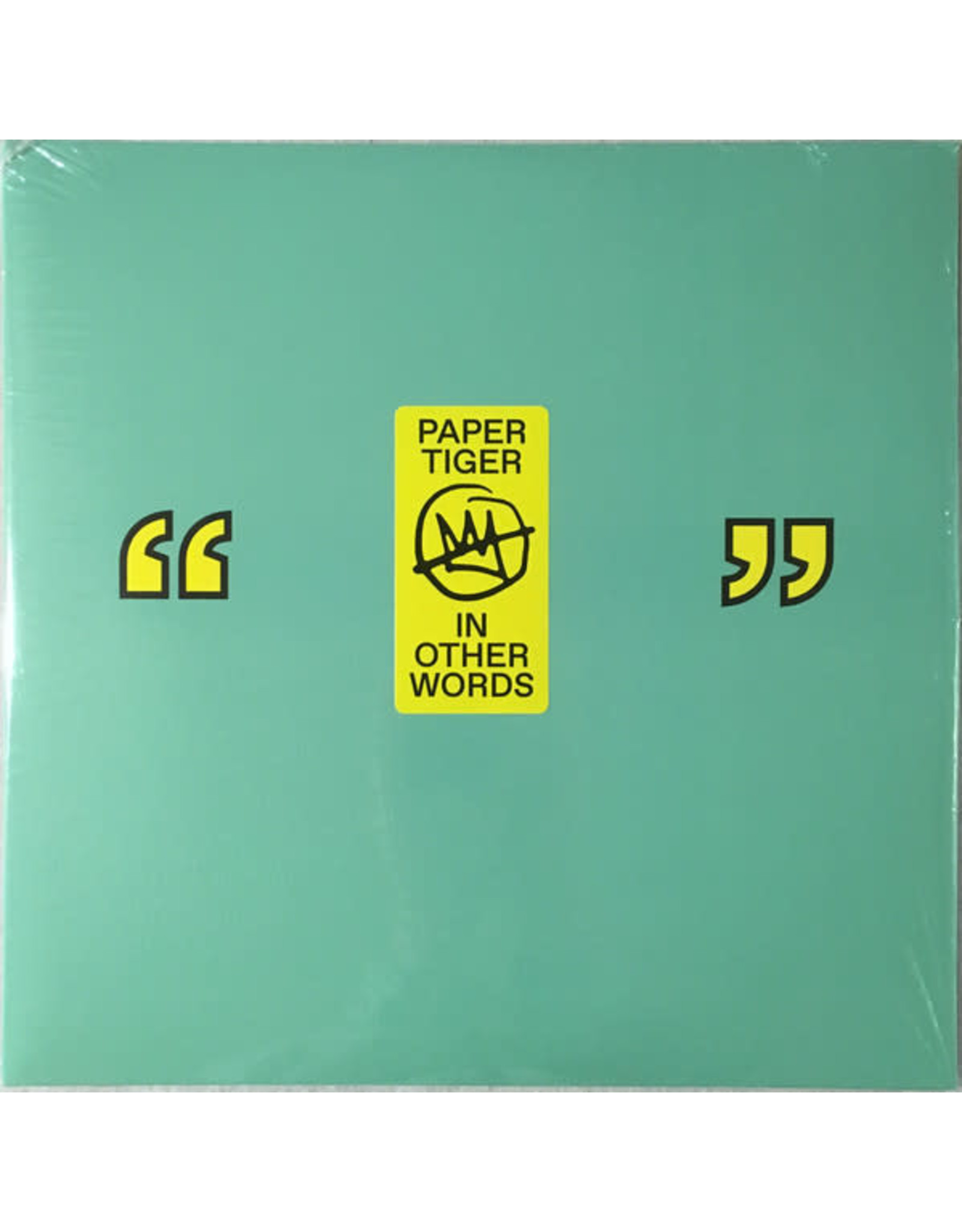 Paper Tiger - In Other Words LP