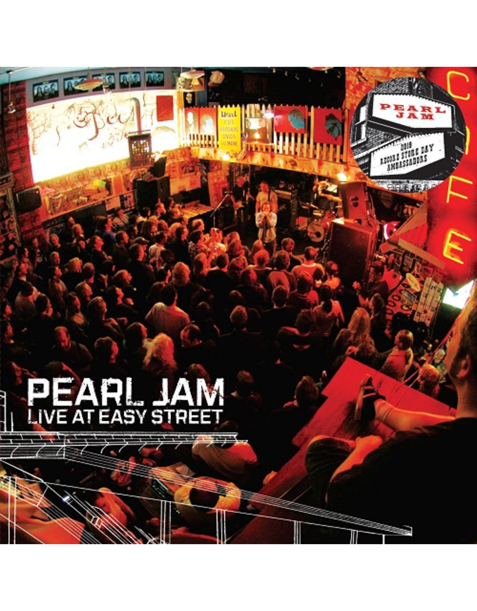 Pearl Jam - Live at Easy Street LP