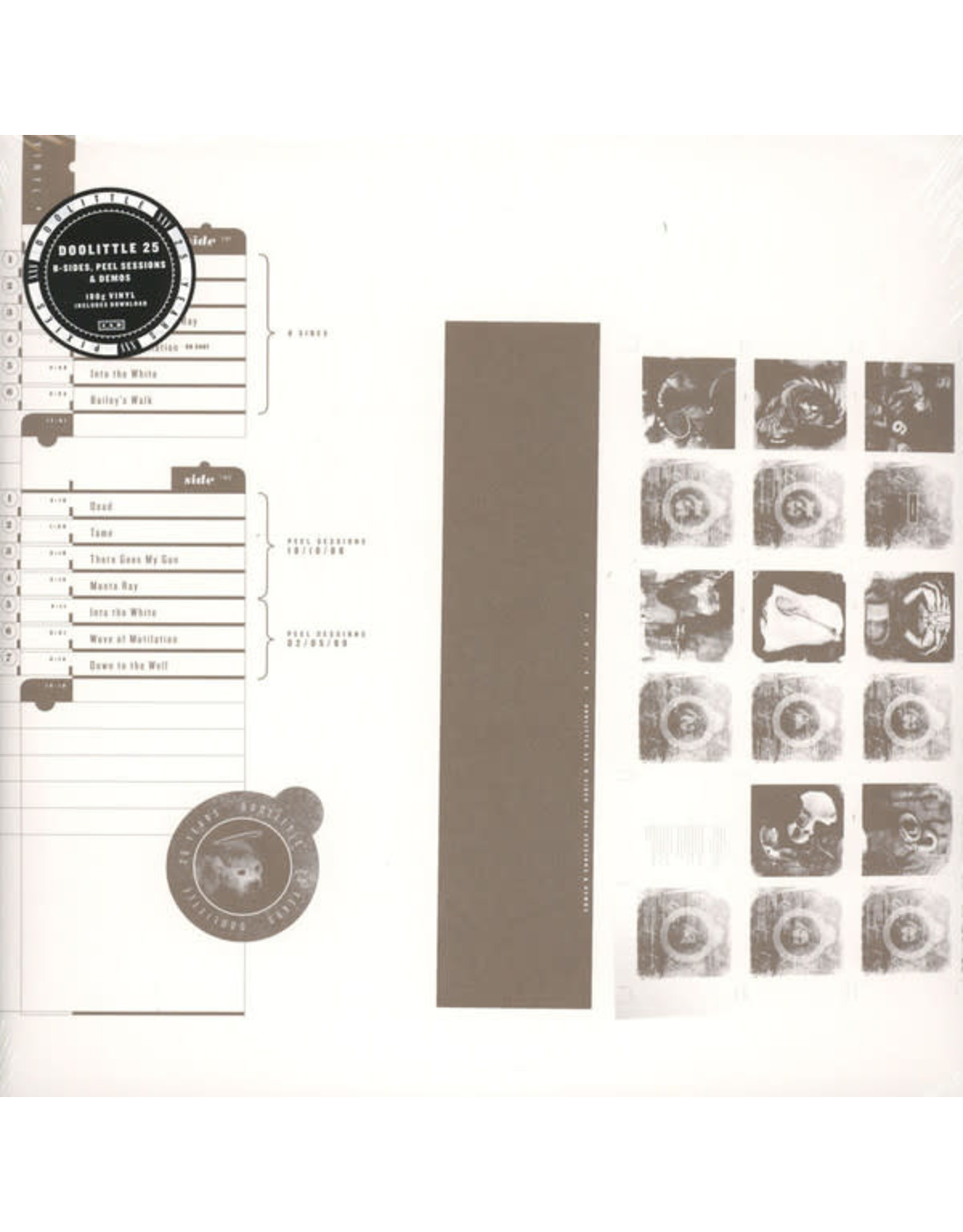 Pixies - Doolittle 25: B-Sides, Peel Sessions and Demos LP