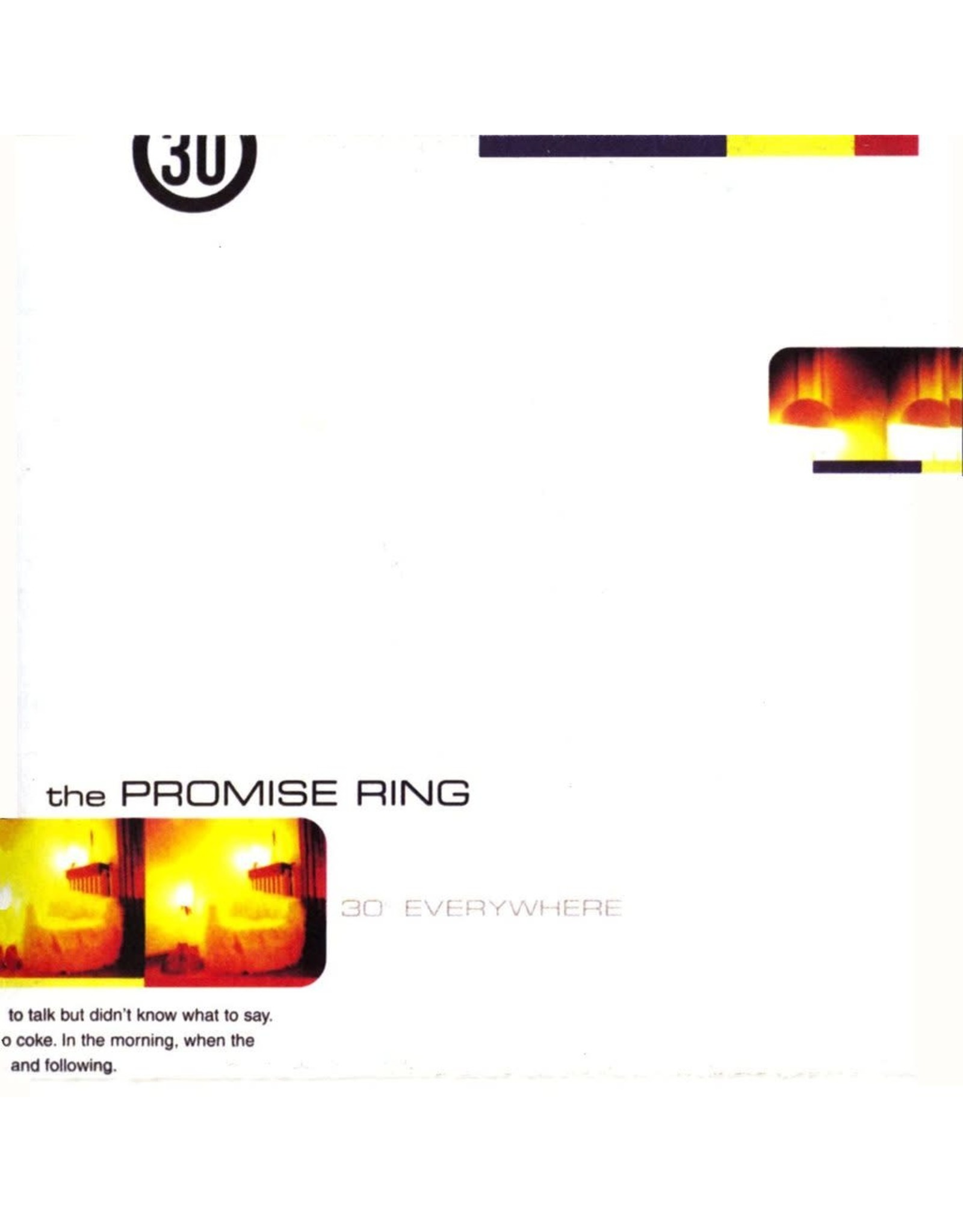 Promise Ring - 30 Degrees Everywhere (Indie Shop) LP