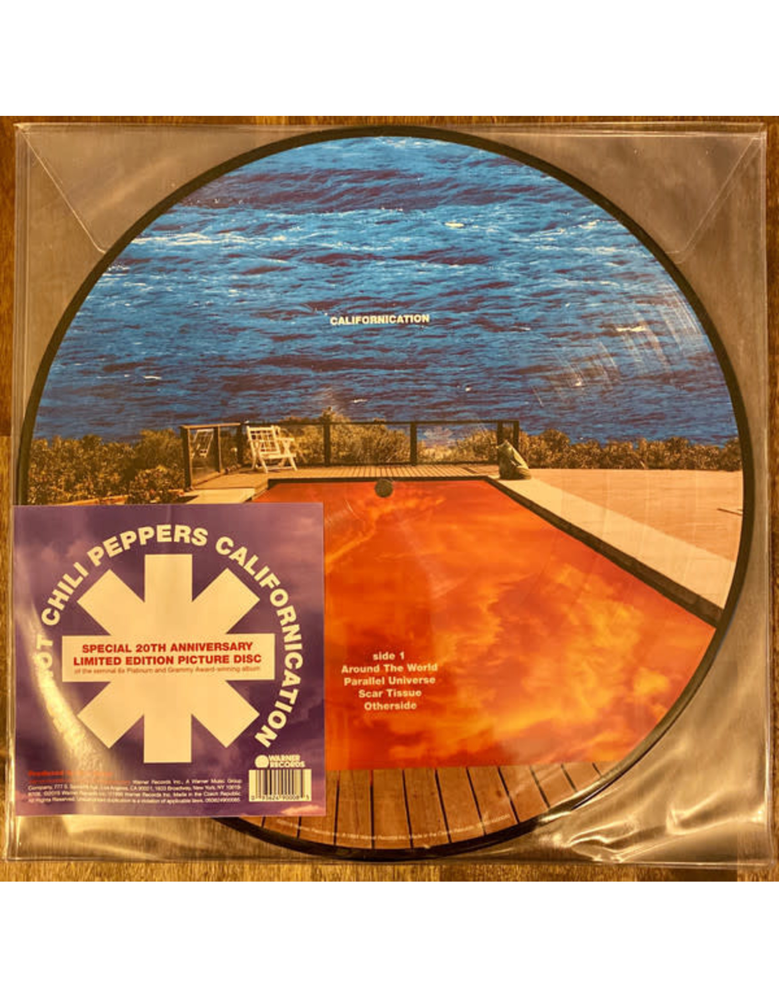 Red Hot Chili Peppers - Californication LP (20th Anniversary Picture Disc)