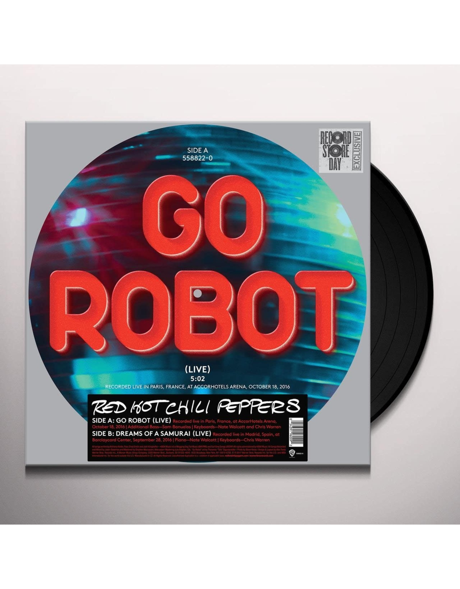 Red Hot Chili Peppers - Go Robot (Picture Disc) LP