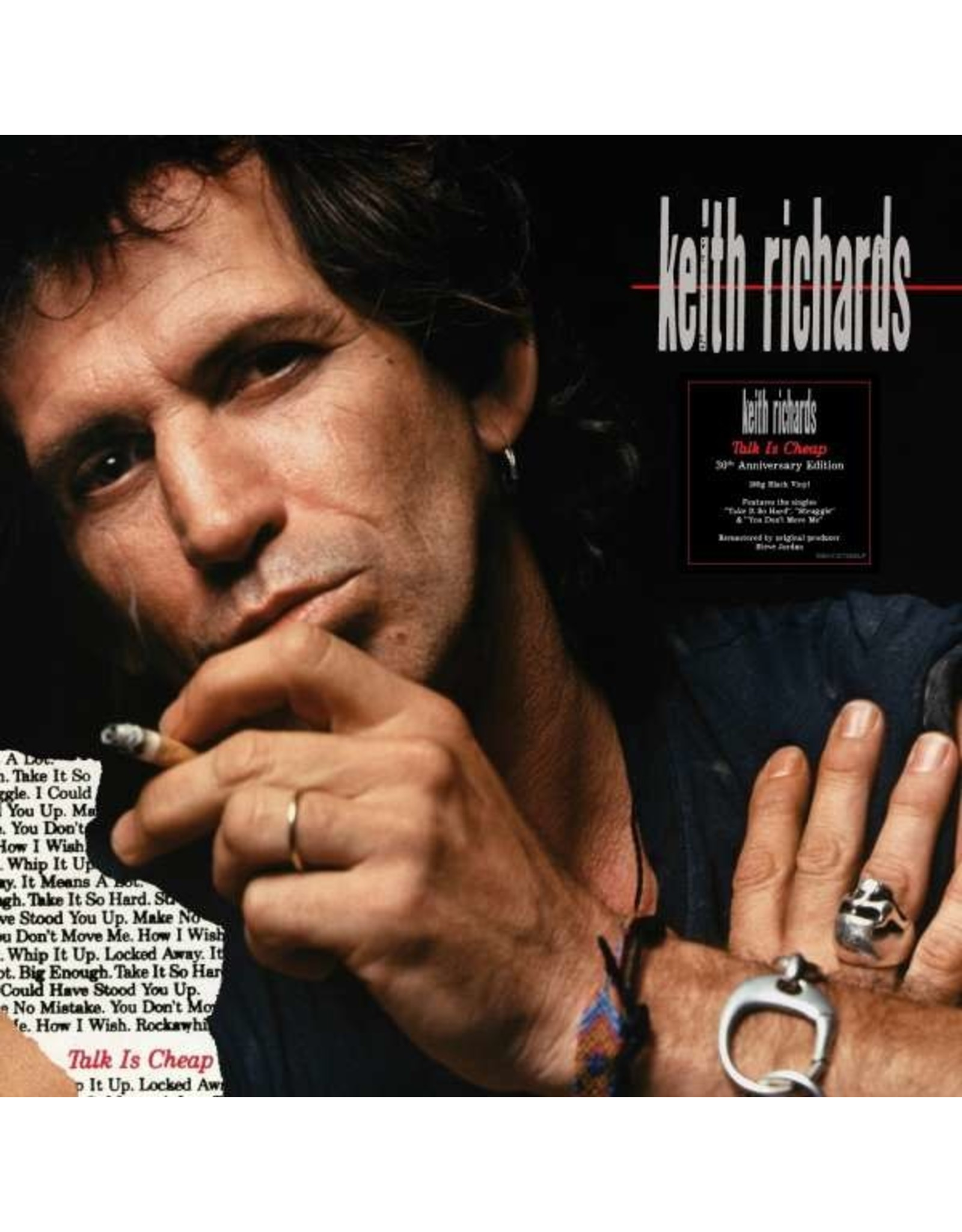 Richards, Keith - Talk Is Cheap (30th Anniversary) LP