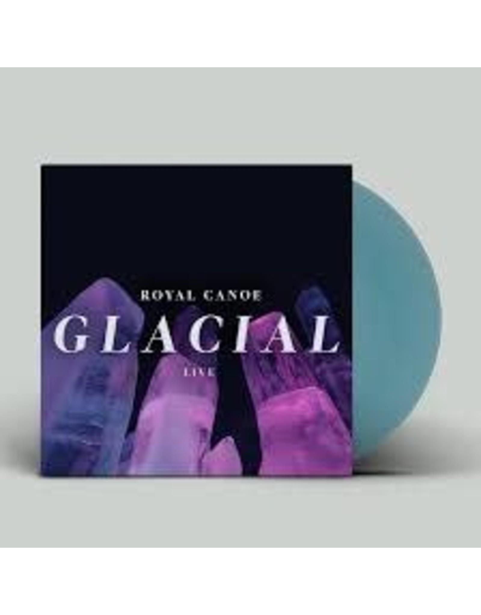 Royal Canoe - Glacial / RC3PO LP (Blue Vinyl)