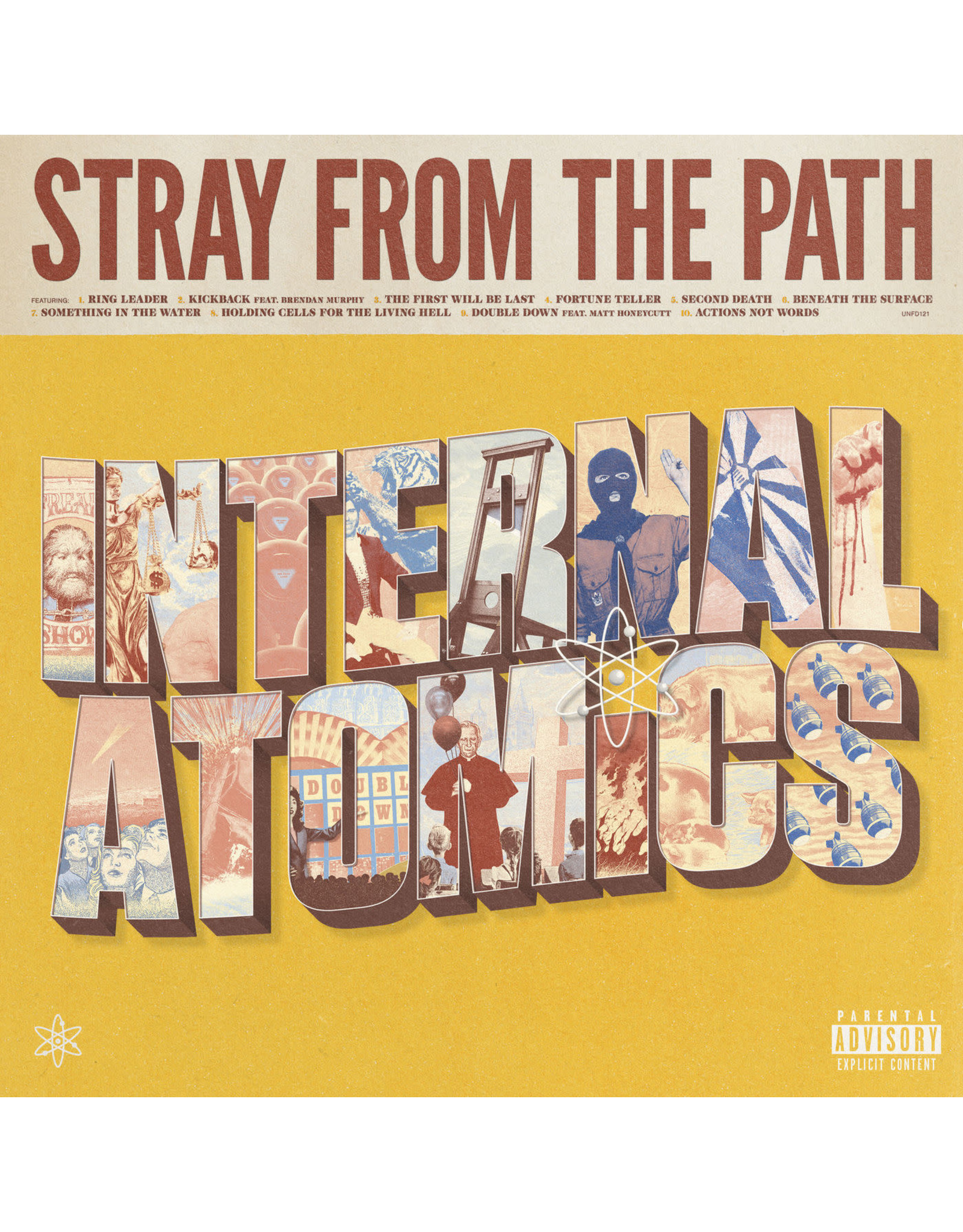 Stray From The Path - Internal Atmoics LP