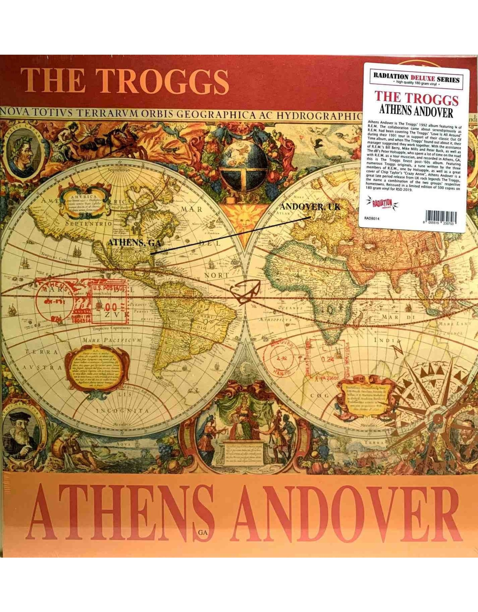 Troggs, The - Athens Andover LP