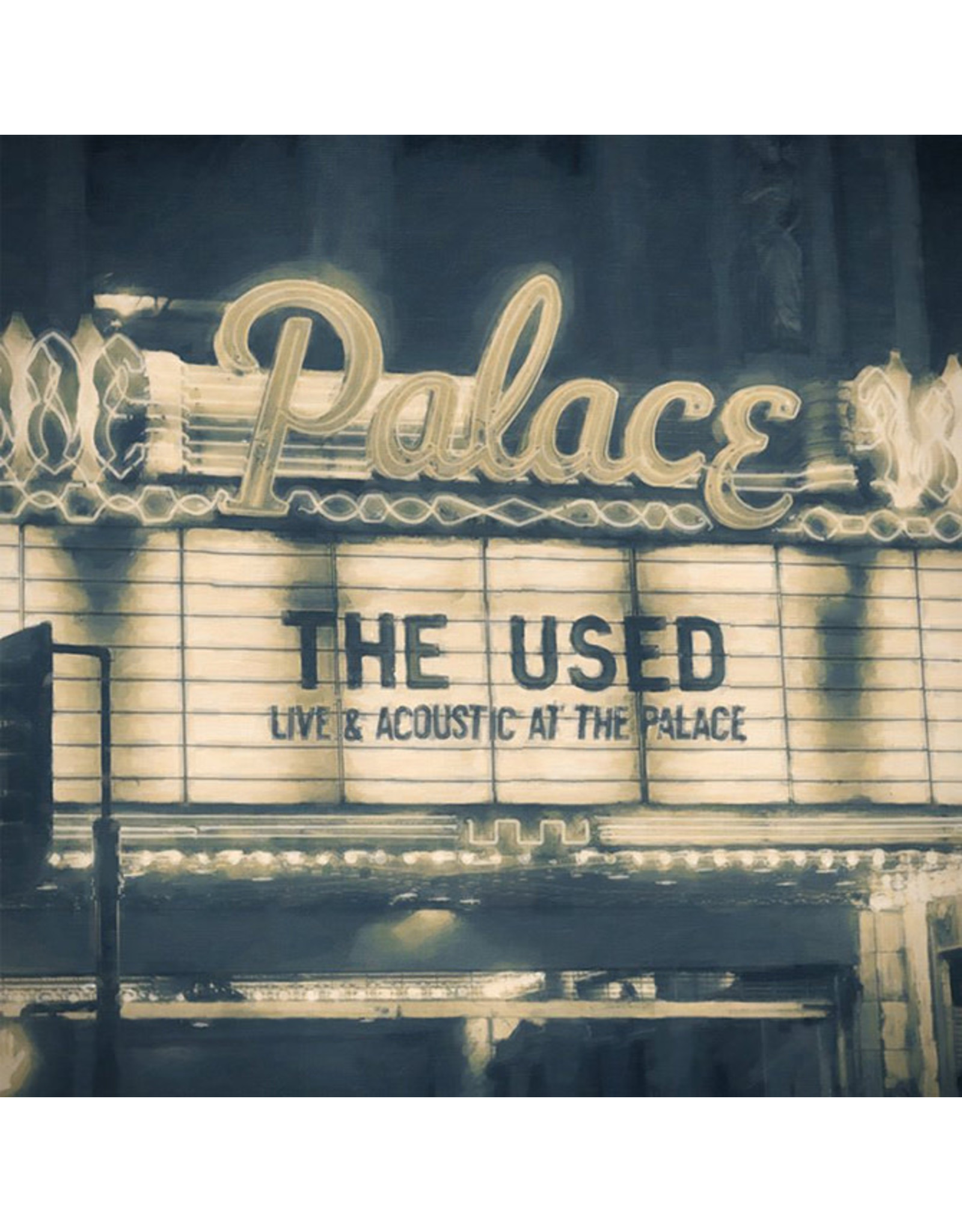 Used - Live and Acoustic at the Palace LP